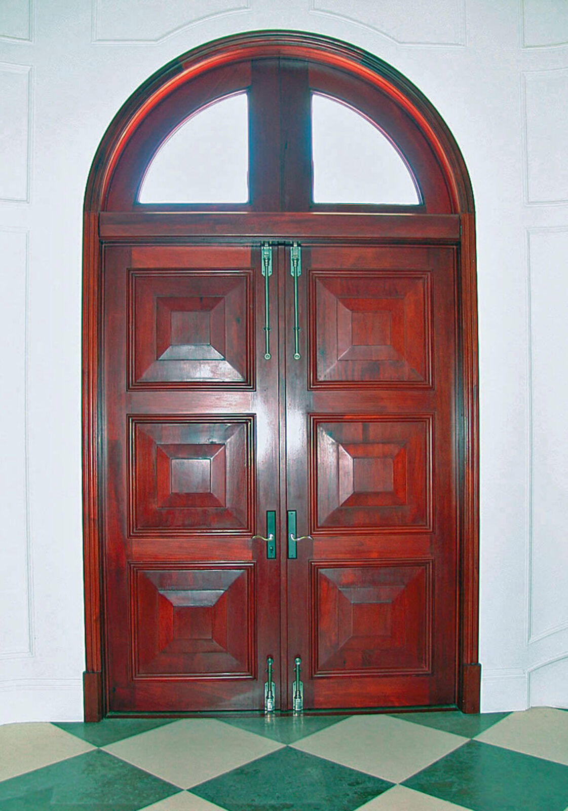 MALAGA MAHOGANY ENTRANCE DOORS