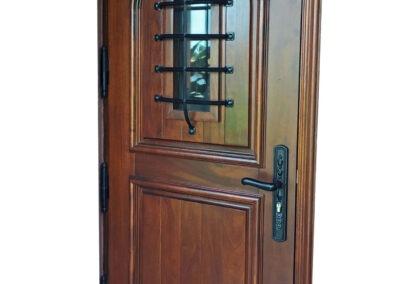 MALIBU MAHOGANY DOOR.