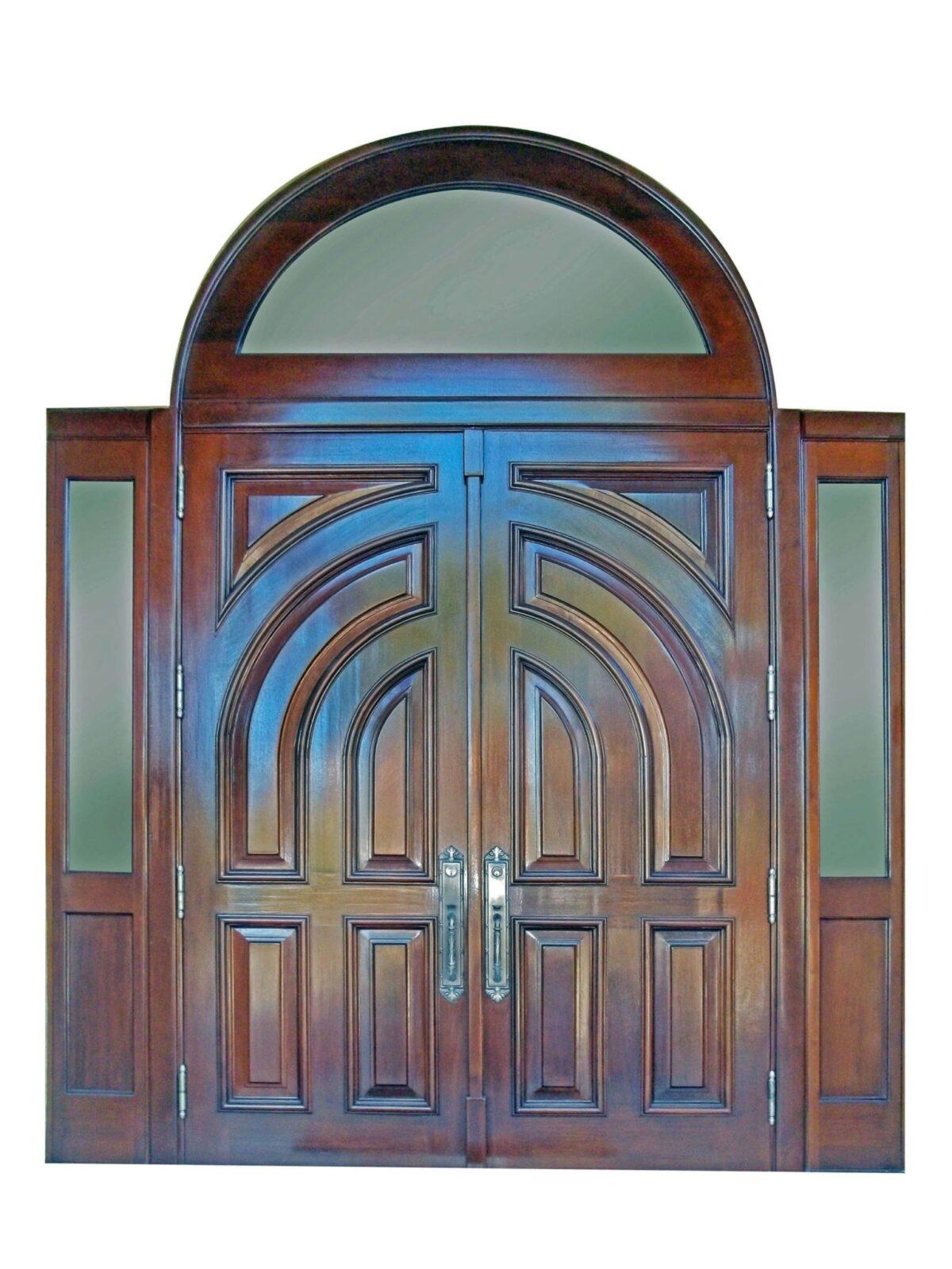 MARATHON KEY MAHOGANY ENTRY DOORS