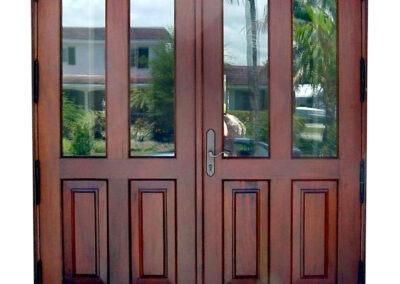 MARSEILLE MAHOGANY DOORS.