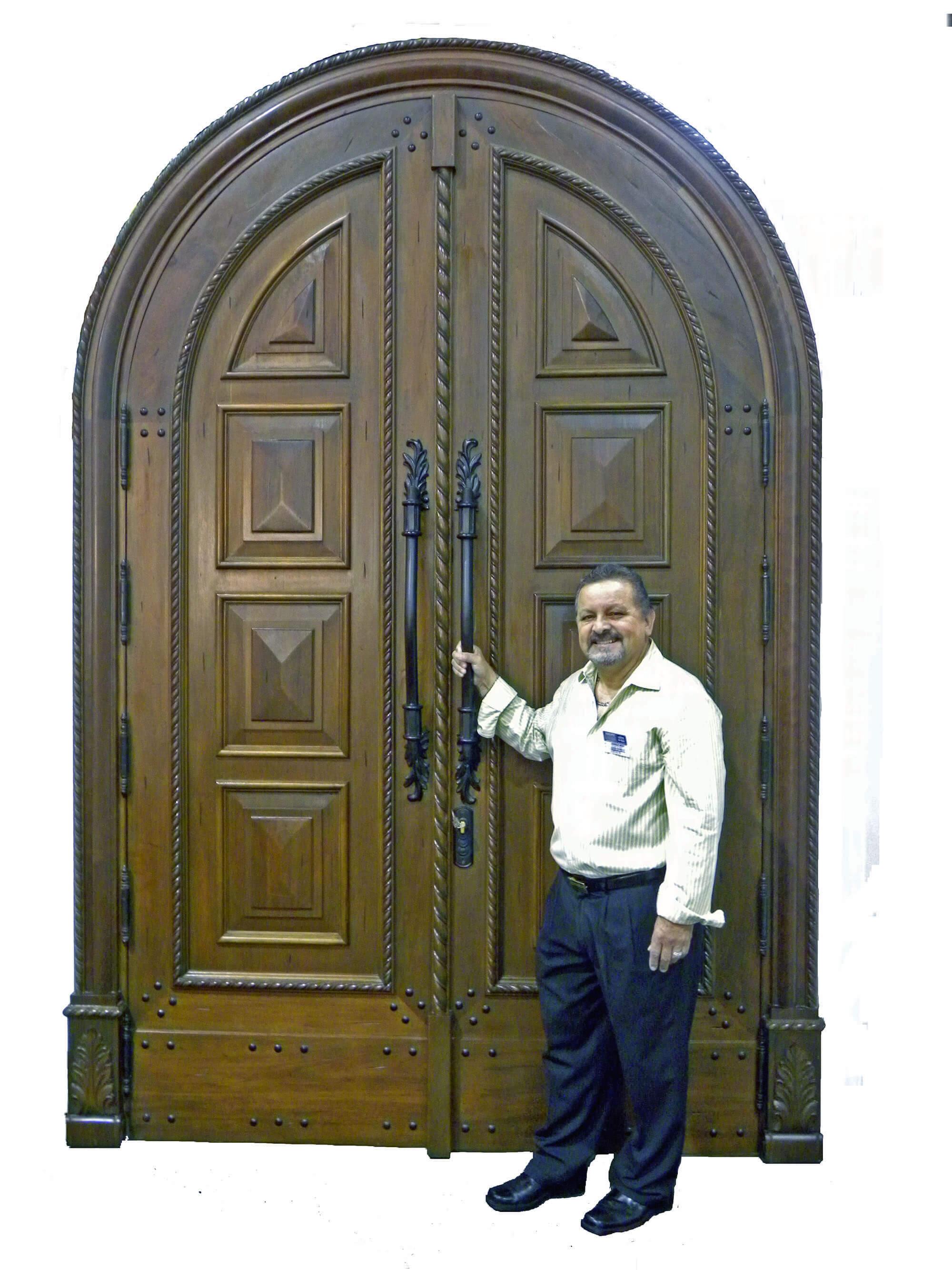 MEDICI MAHOGANY ENTRANCE DOOR INTERIOR