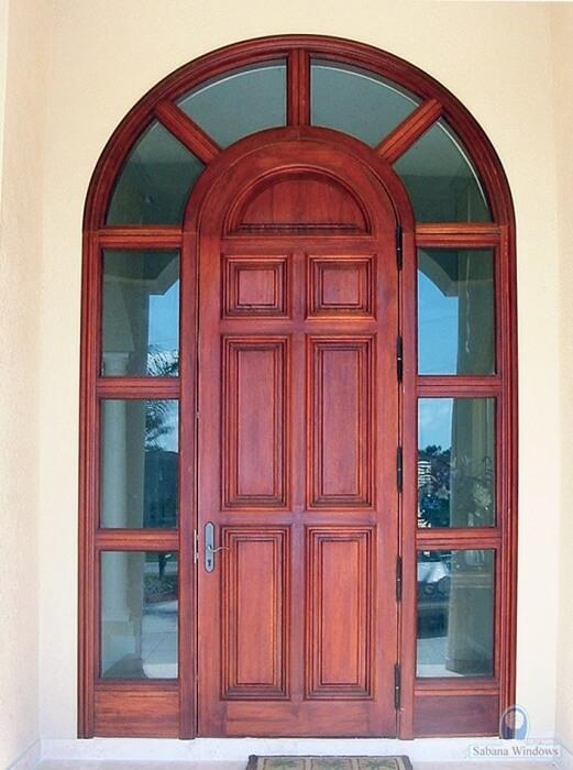 Melbourne Mahogany Exterior Doors