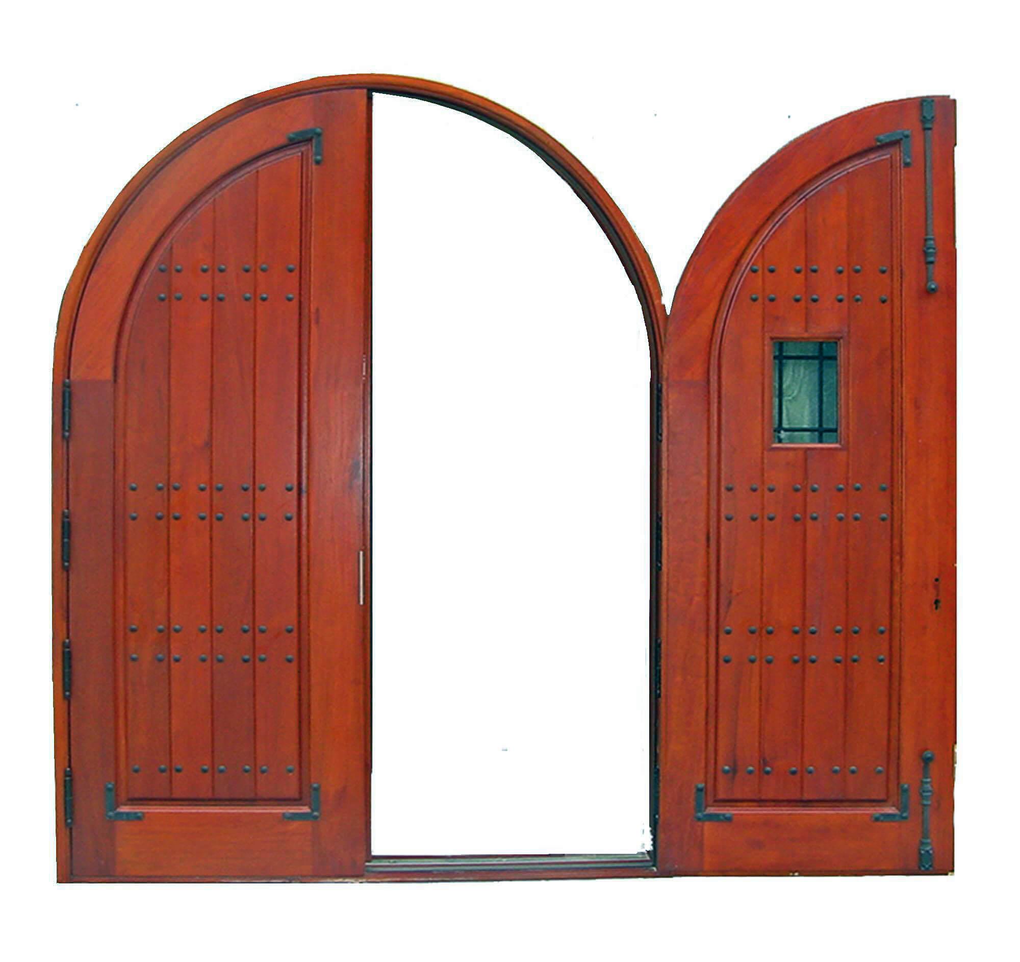 MERRIT ISLAND MAHOGANY ENTRY DOOR.