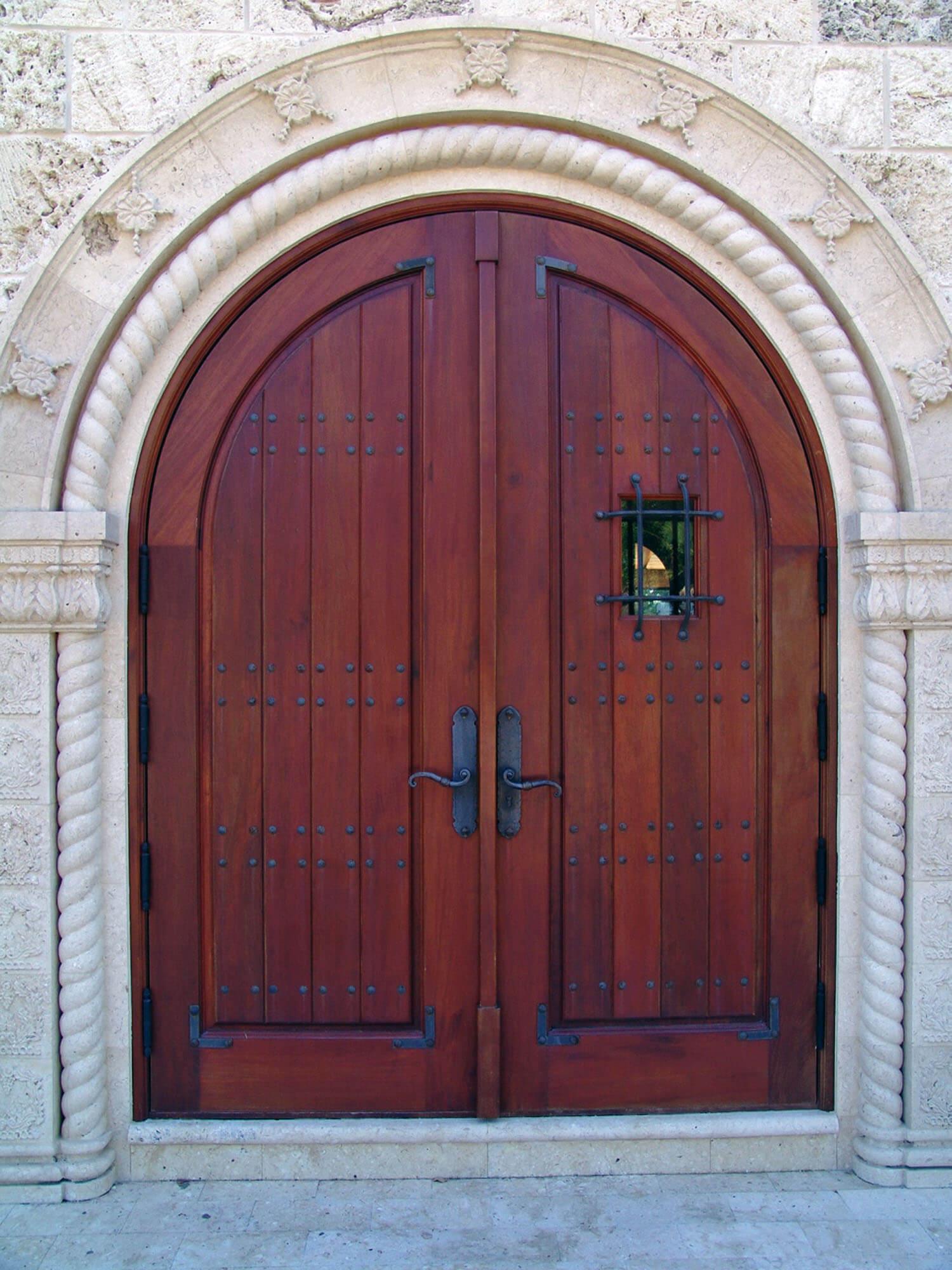 MERRIT ISLAND MAHOGANY ENTRY DOORS.