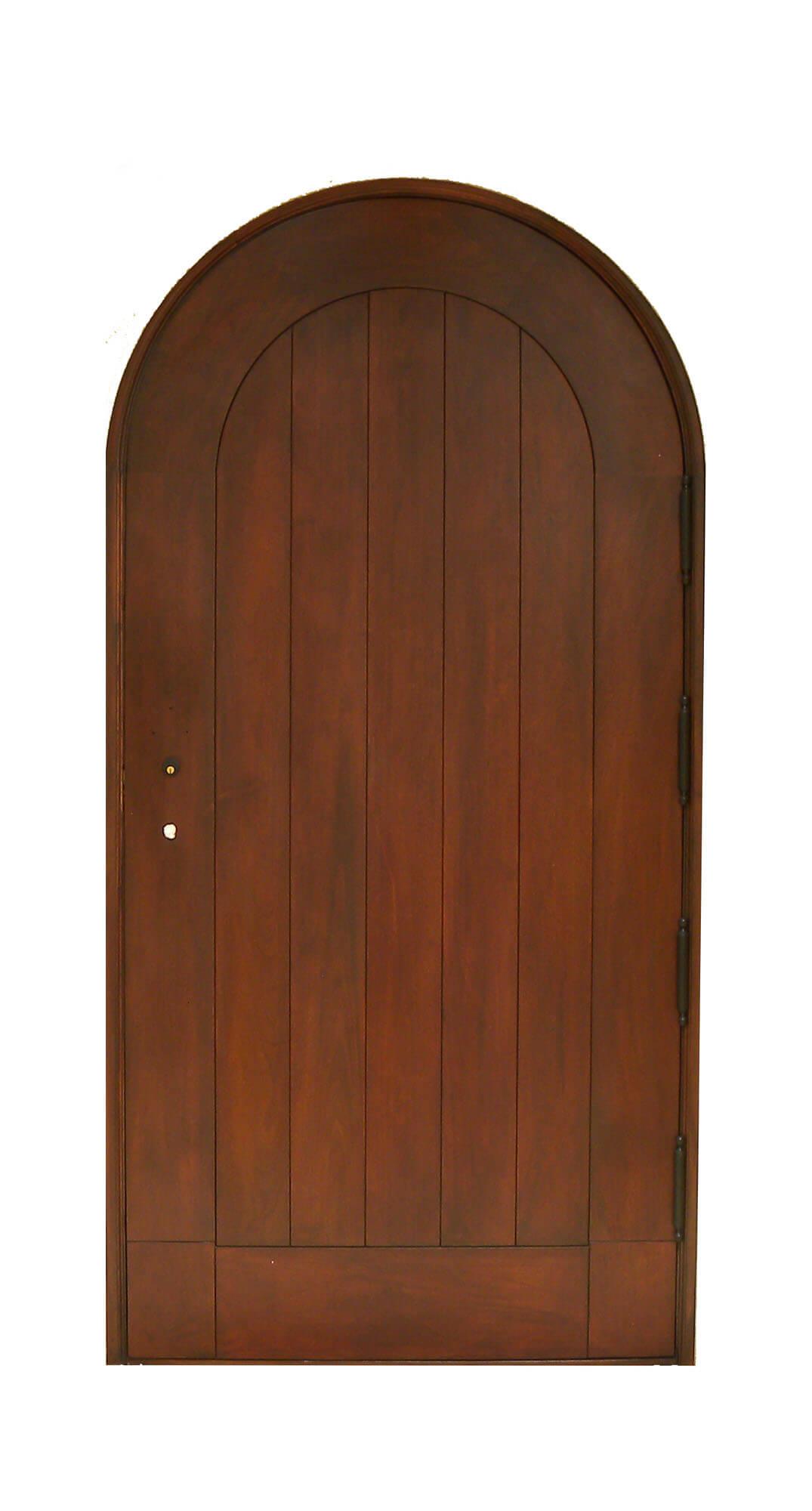 MIAMI SPRINGS MAHOGANY PLANK DOOR.