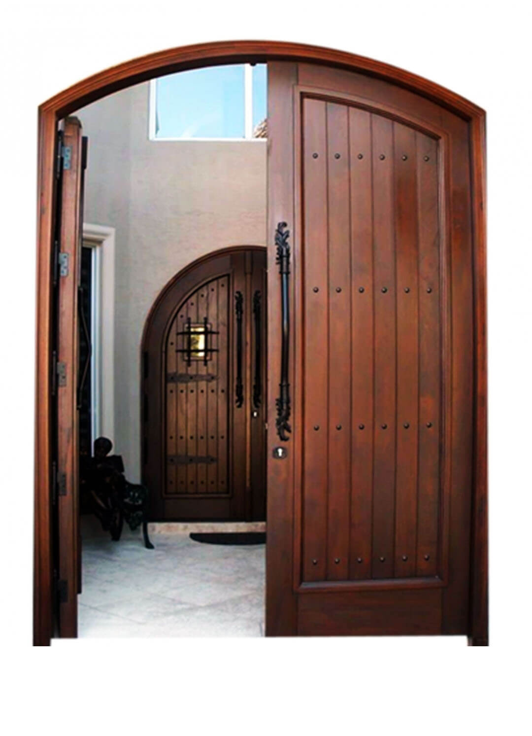 Aventura Mahogany Gate Door