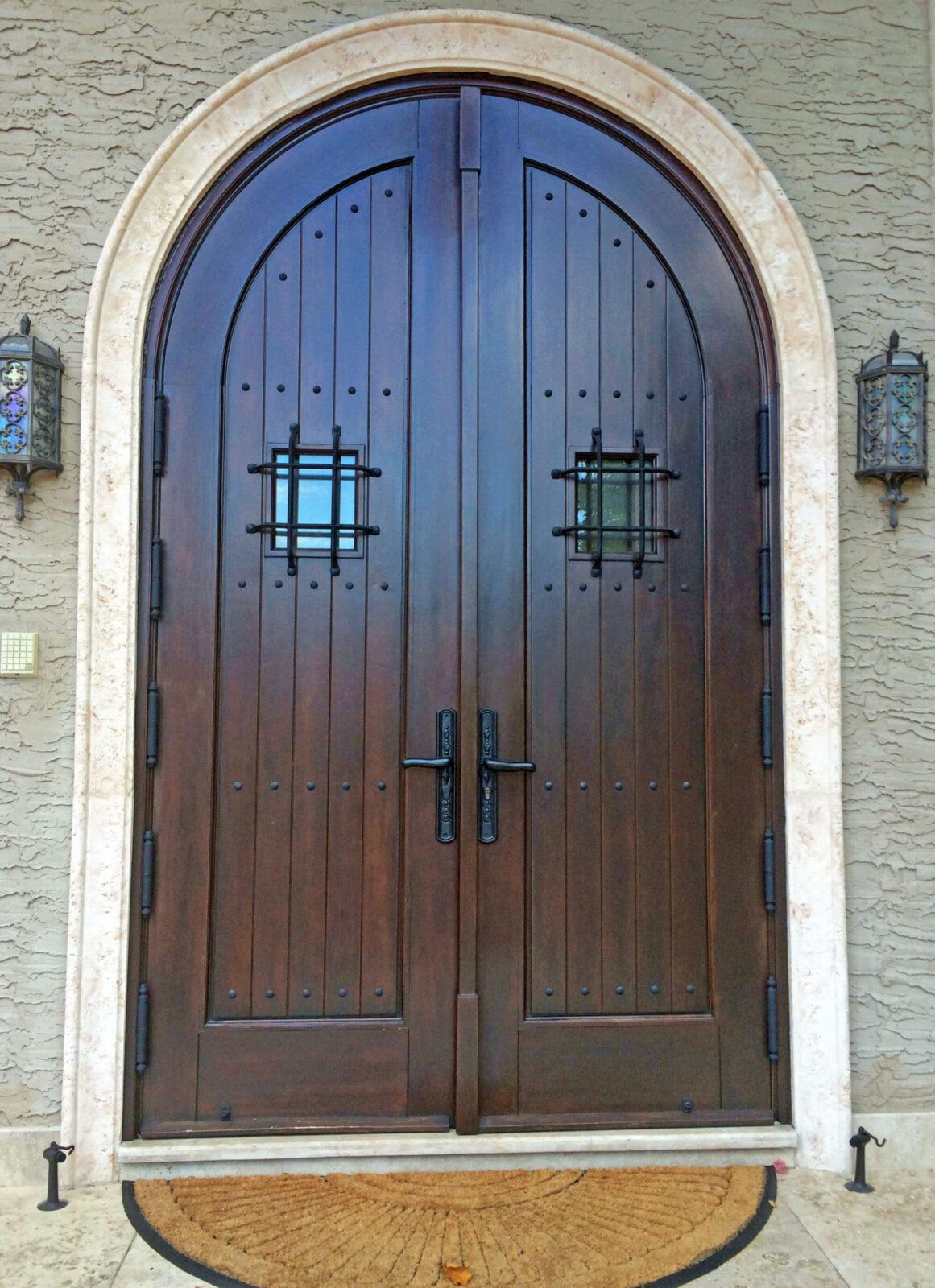 Morningside Miami Mahogany Entrance Doors
