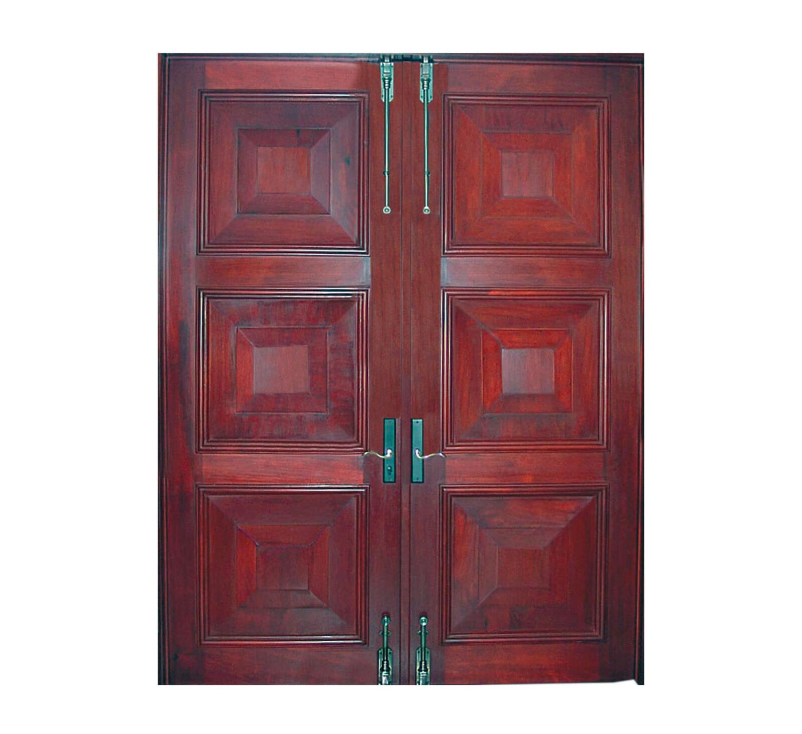 NASSAU MAHOGANY DOOR.