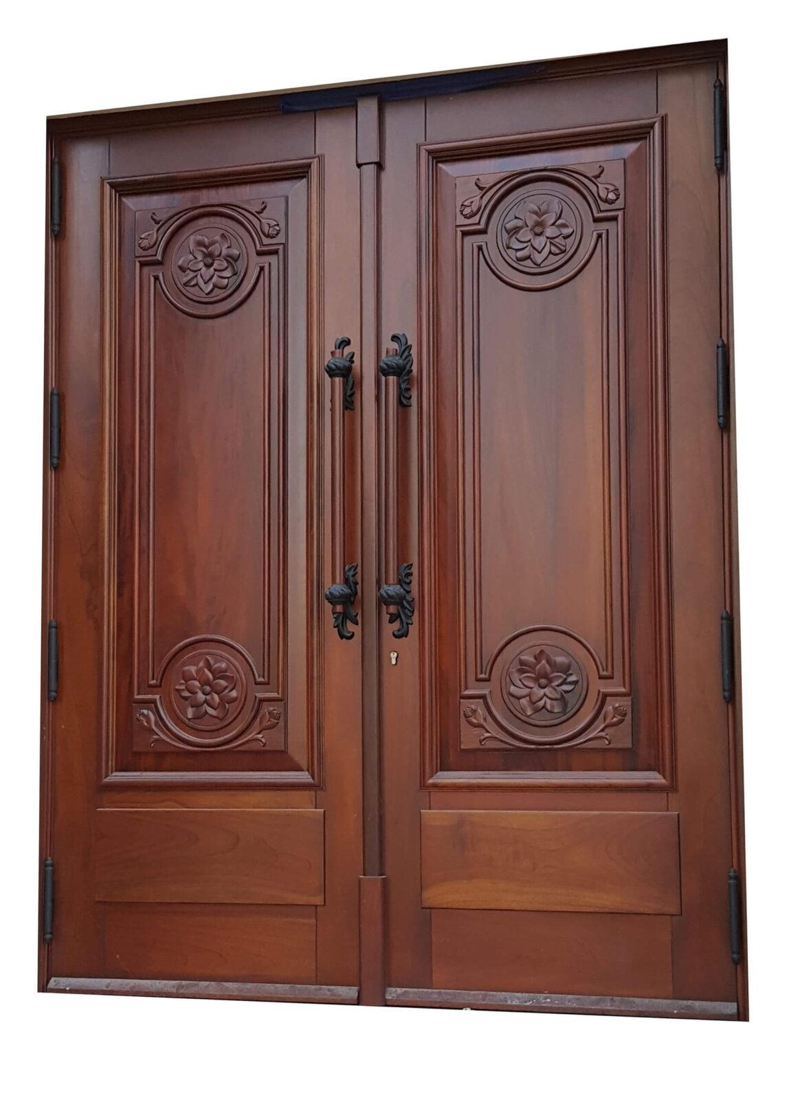 New Jersey Mahogany Entrance Door