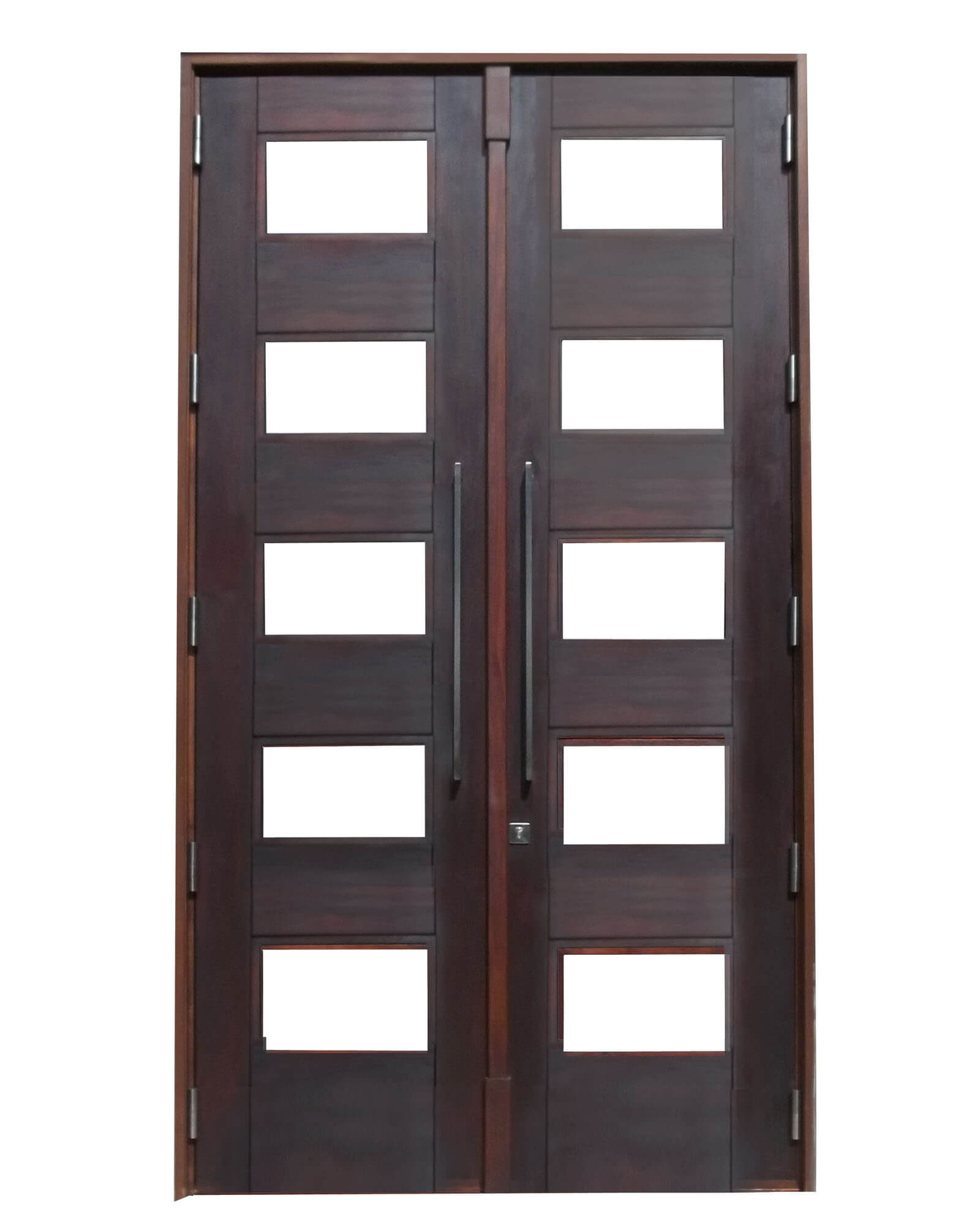 North Biscayne Point Bay Mahogany Door