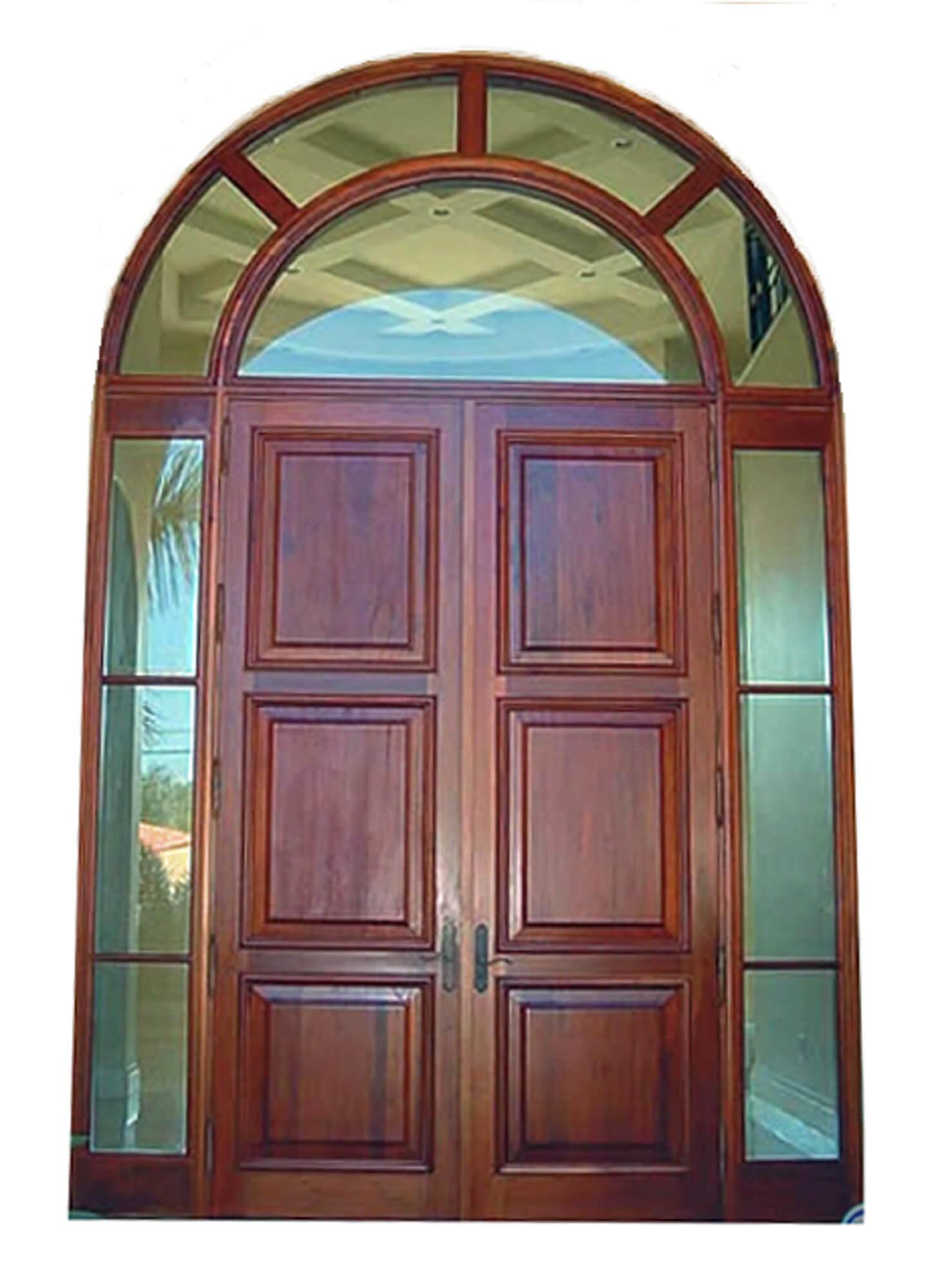 North Lauderdale Mahogany Entrance Doors