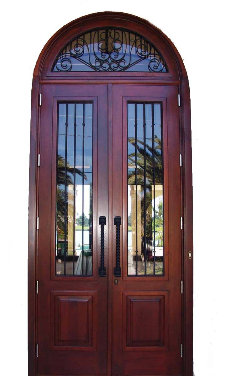 North Miami Beach Mahogany Entry Door