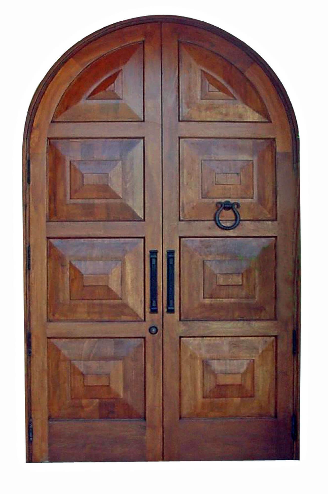 North Miami Surfside Mahogany Exterior Door