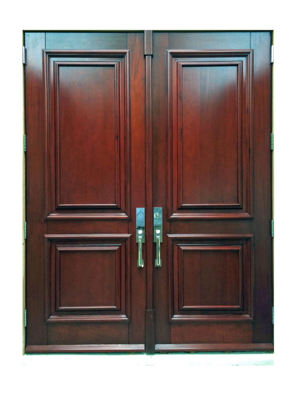 Nurmi Island Mahogany Doors