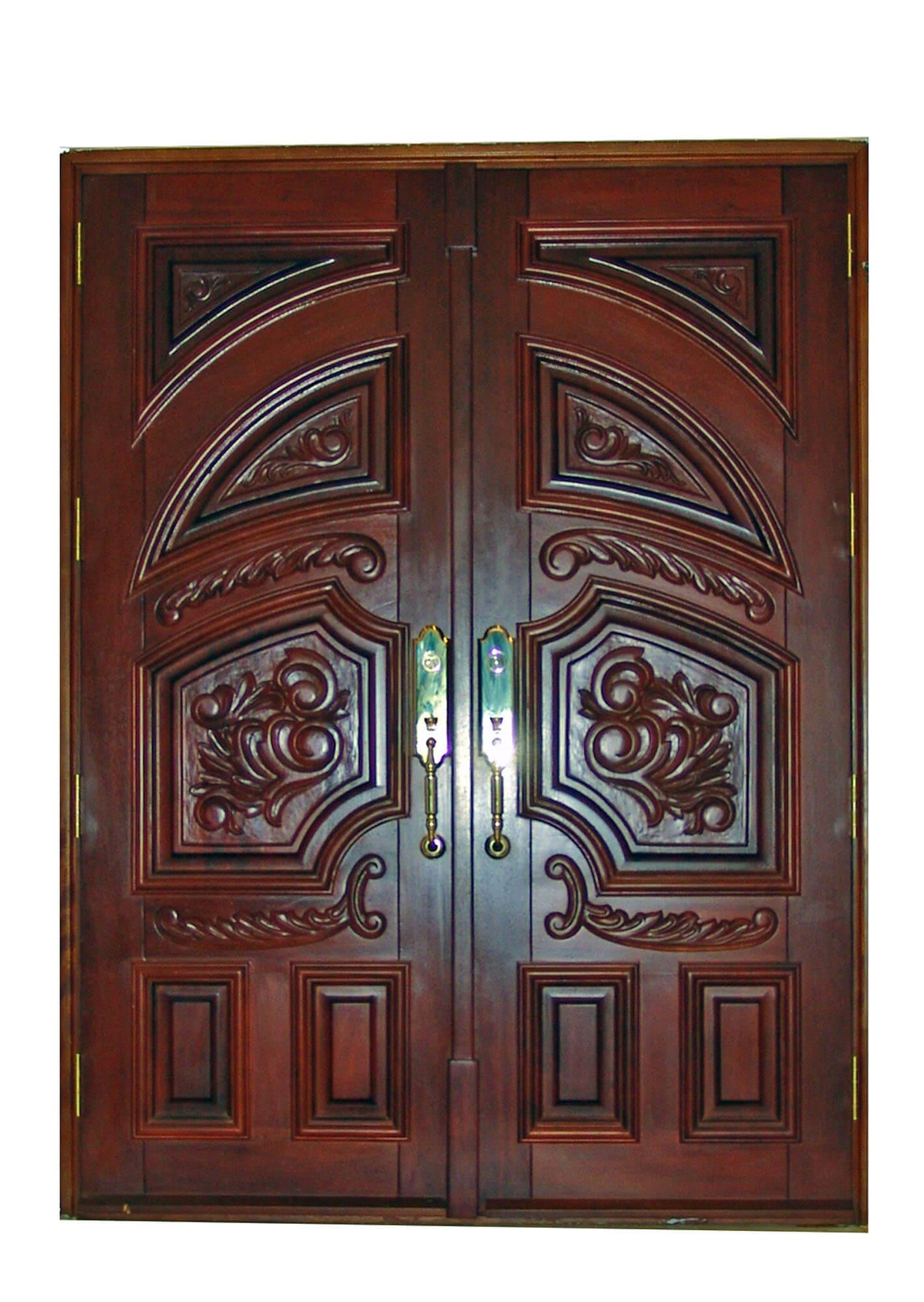 OAKLAND PARK MAHOGANY ENTRY DOOR.