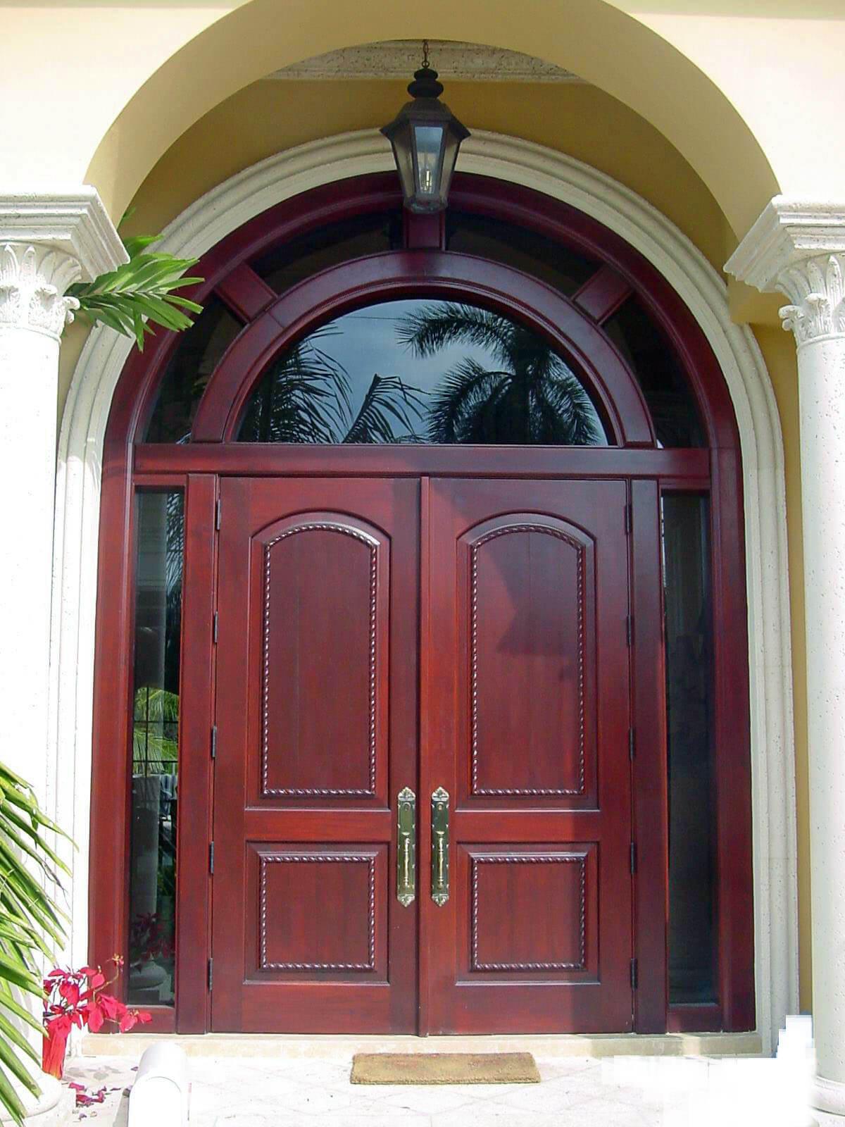 Palm Bay Mahogany Impact Doors
