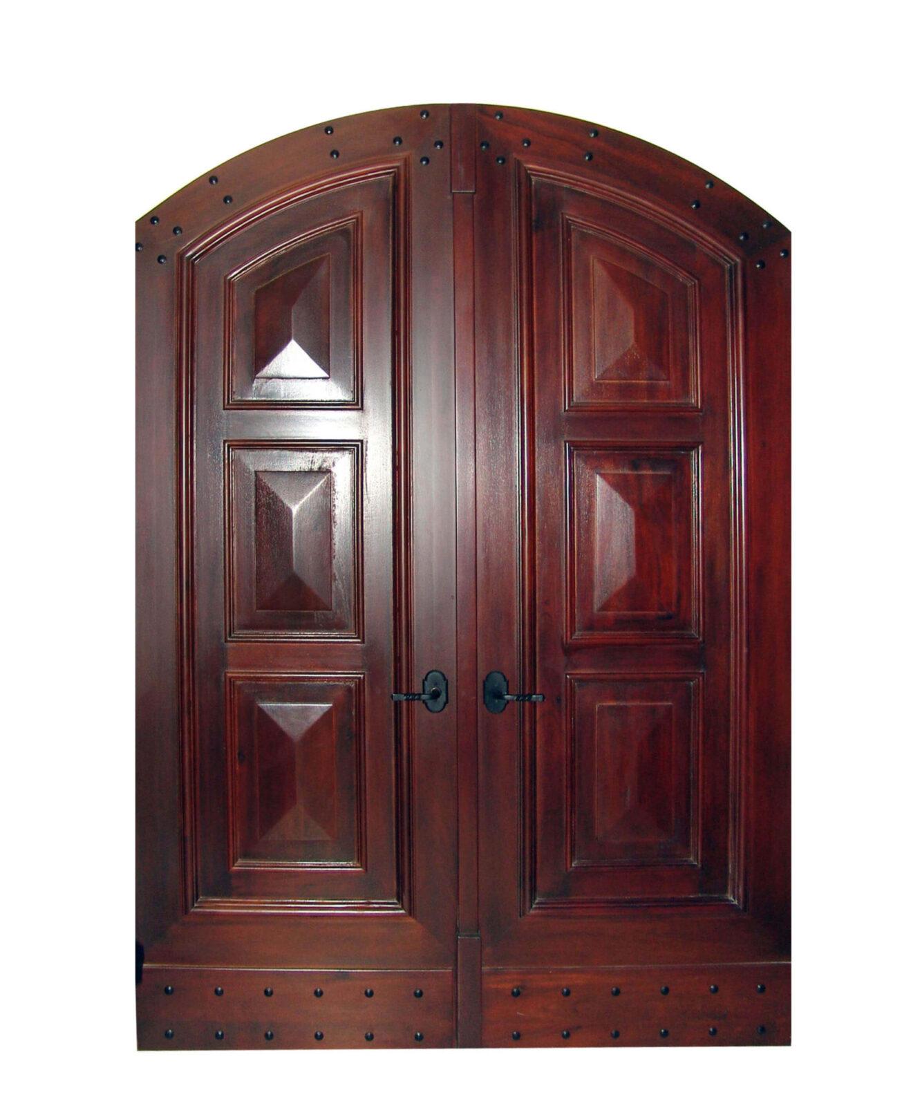 PARACAS MAHOGANY ENTRANCE DOORS.