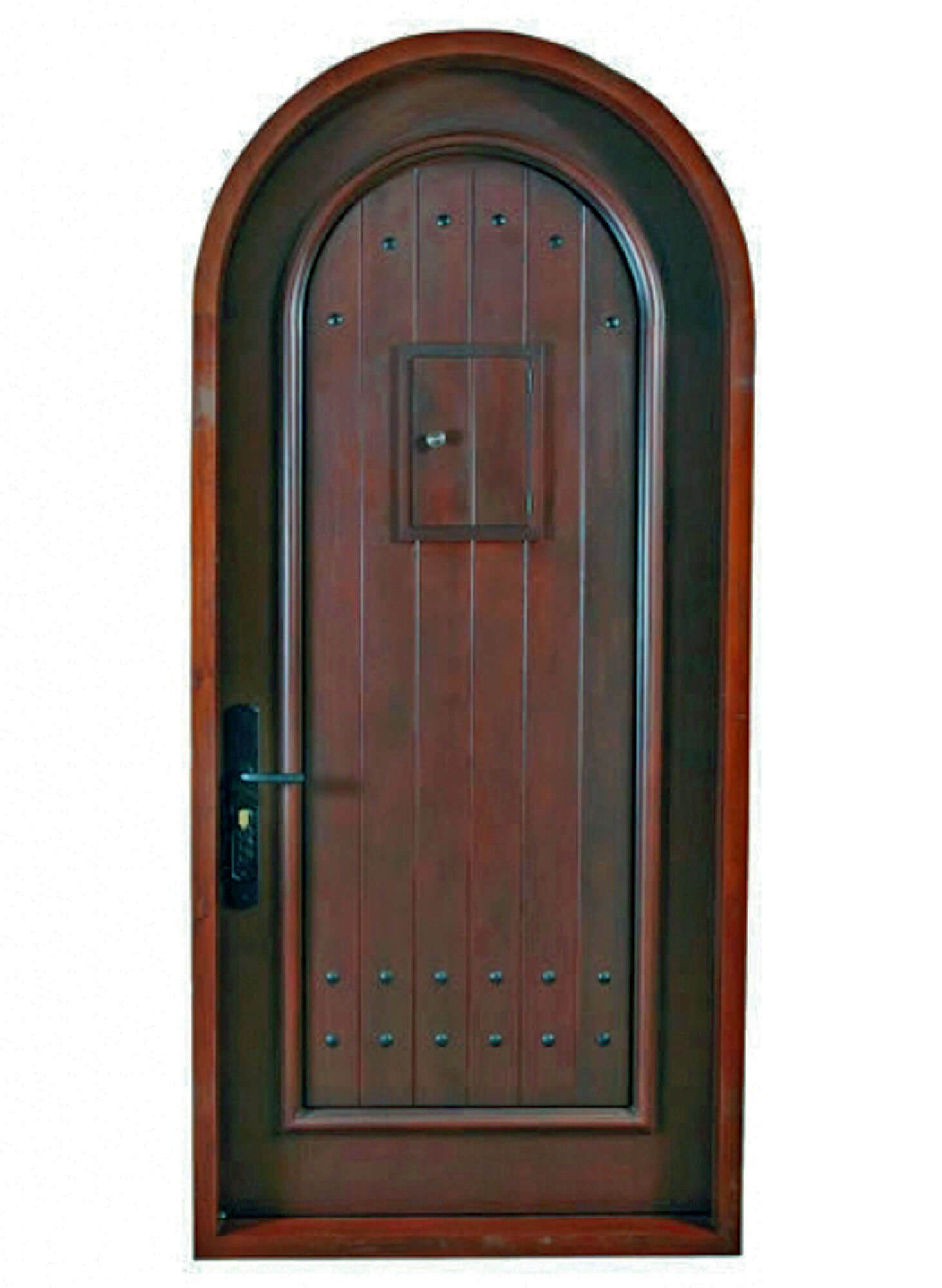 PINE TREE MAHOGANY DOOR.