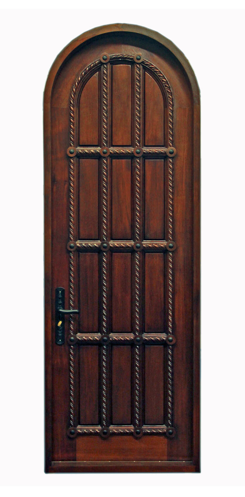 PINECREST CARVED MAHOGANY ENTRY DOORS