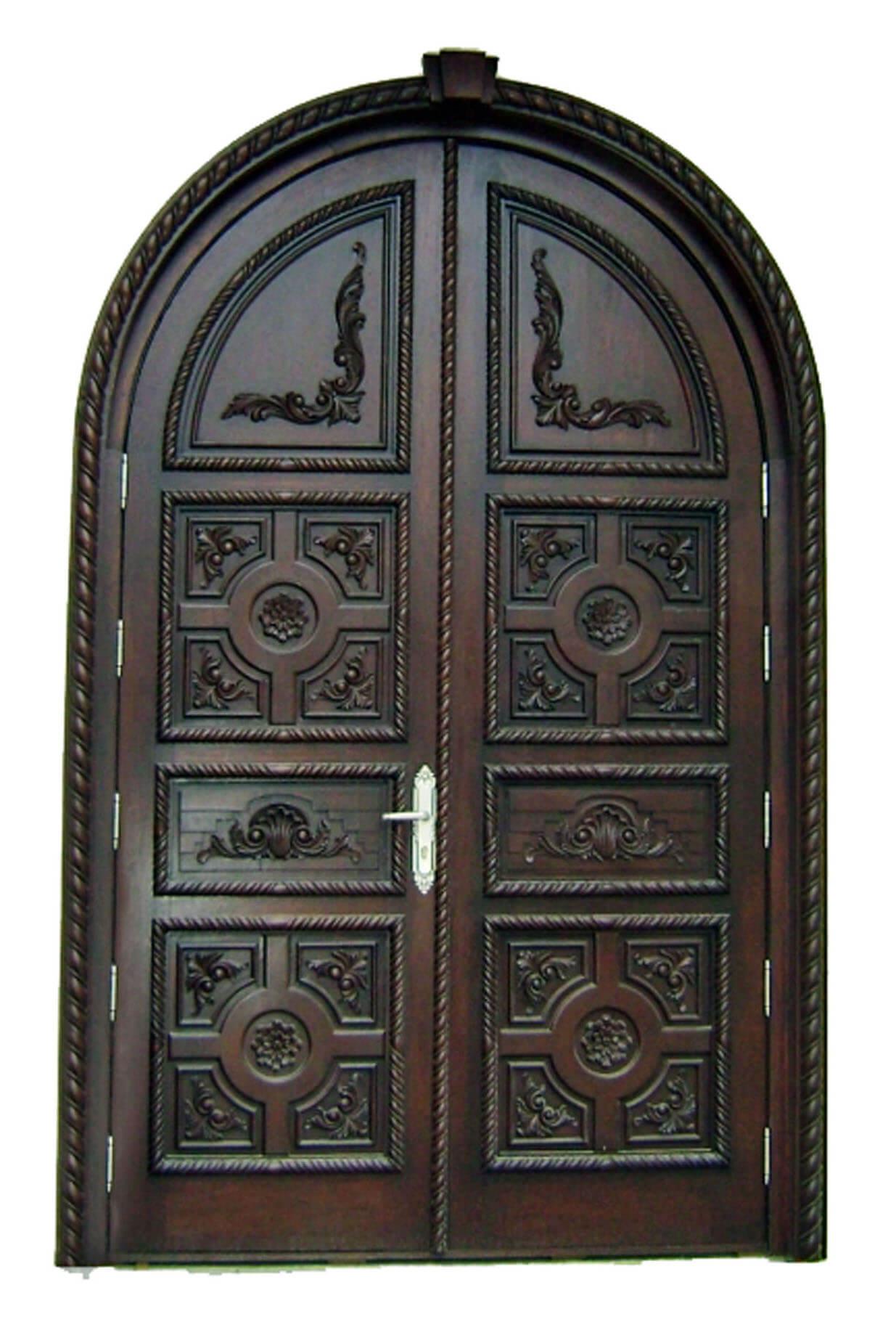 BARRANCO MAHOGANY CARVED DOOR