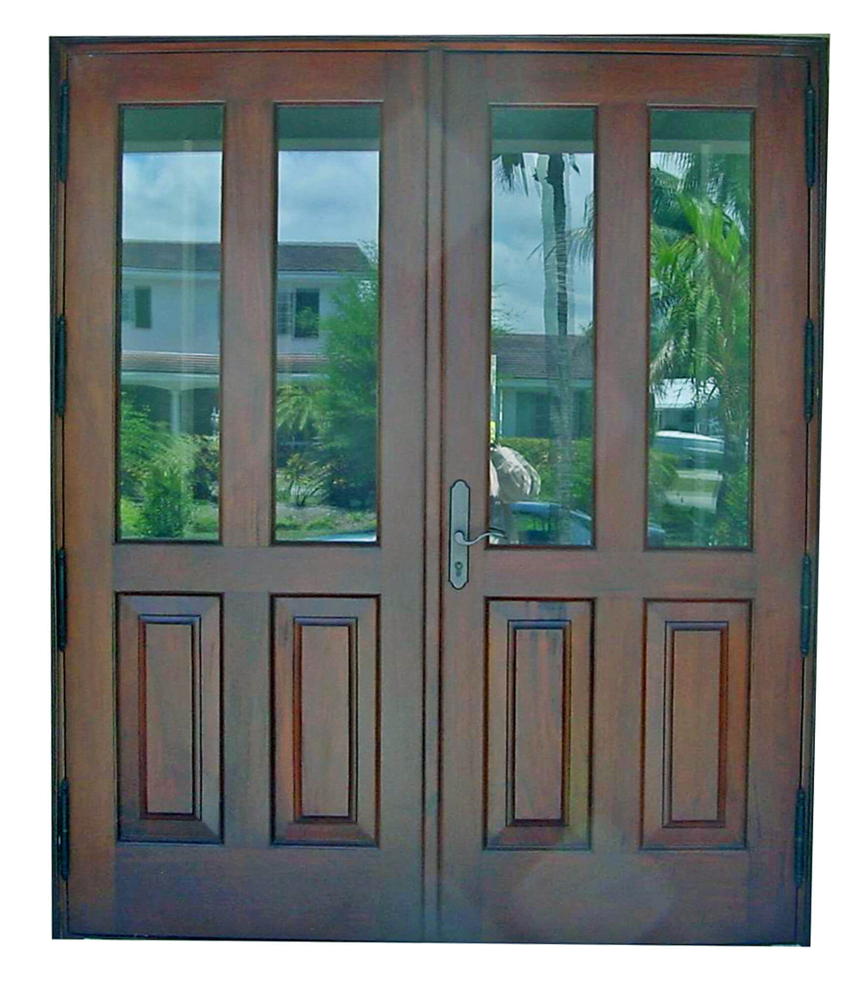 RIVIERA BEACH MAHOGANY DOOR.