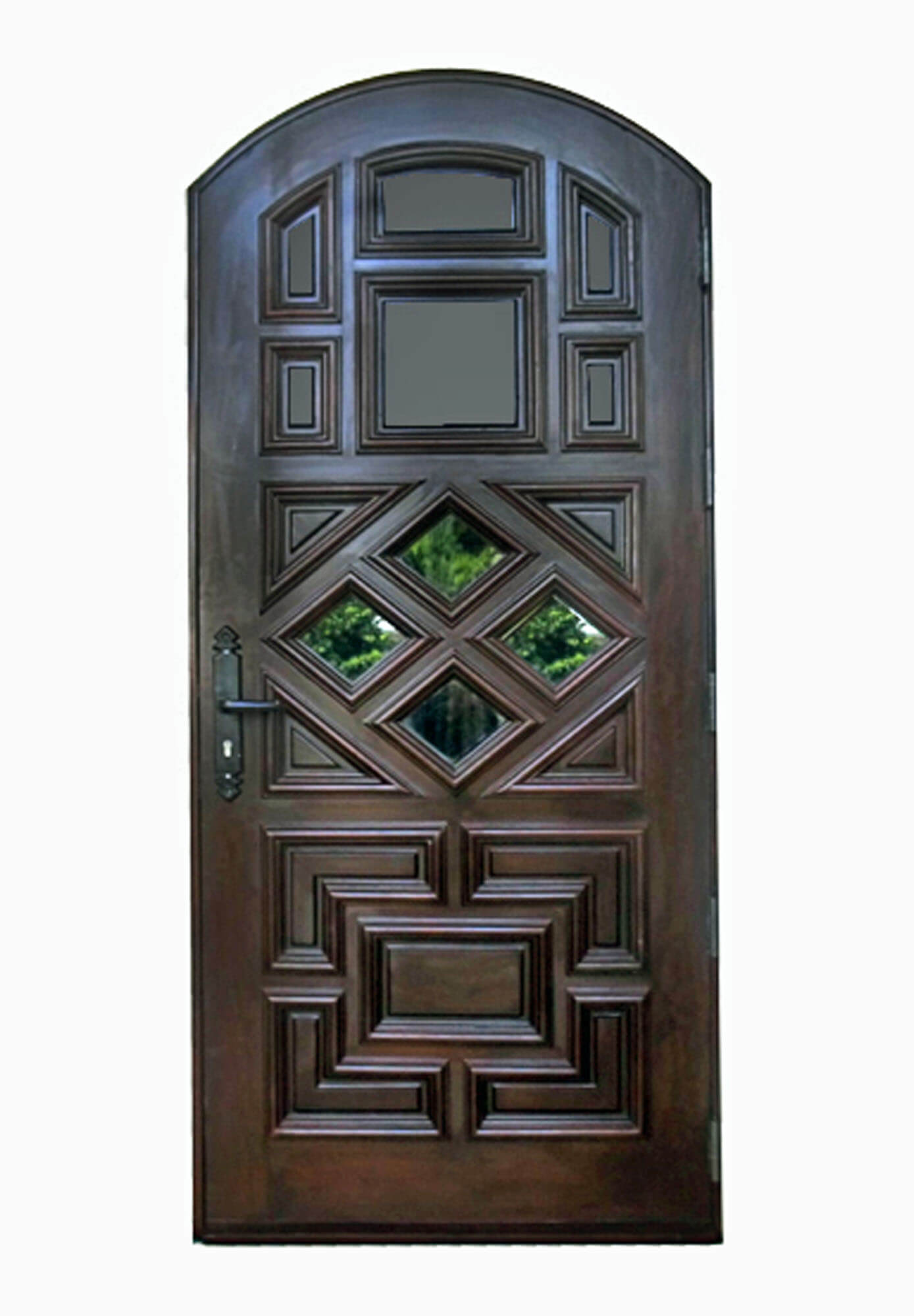 Sanibel Mahogany Entry Doors