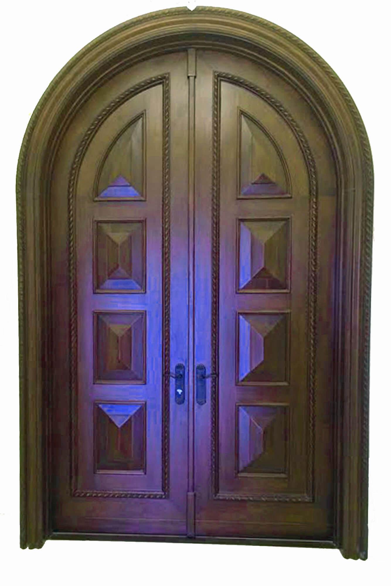 SEASIDE MAHOGANY EXTERIOR DOOR.