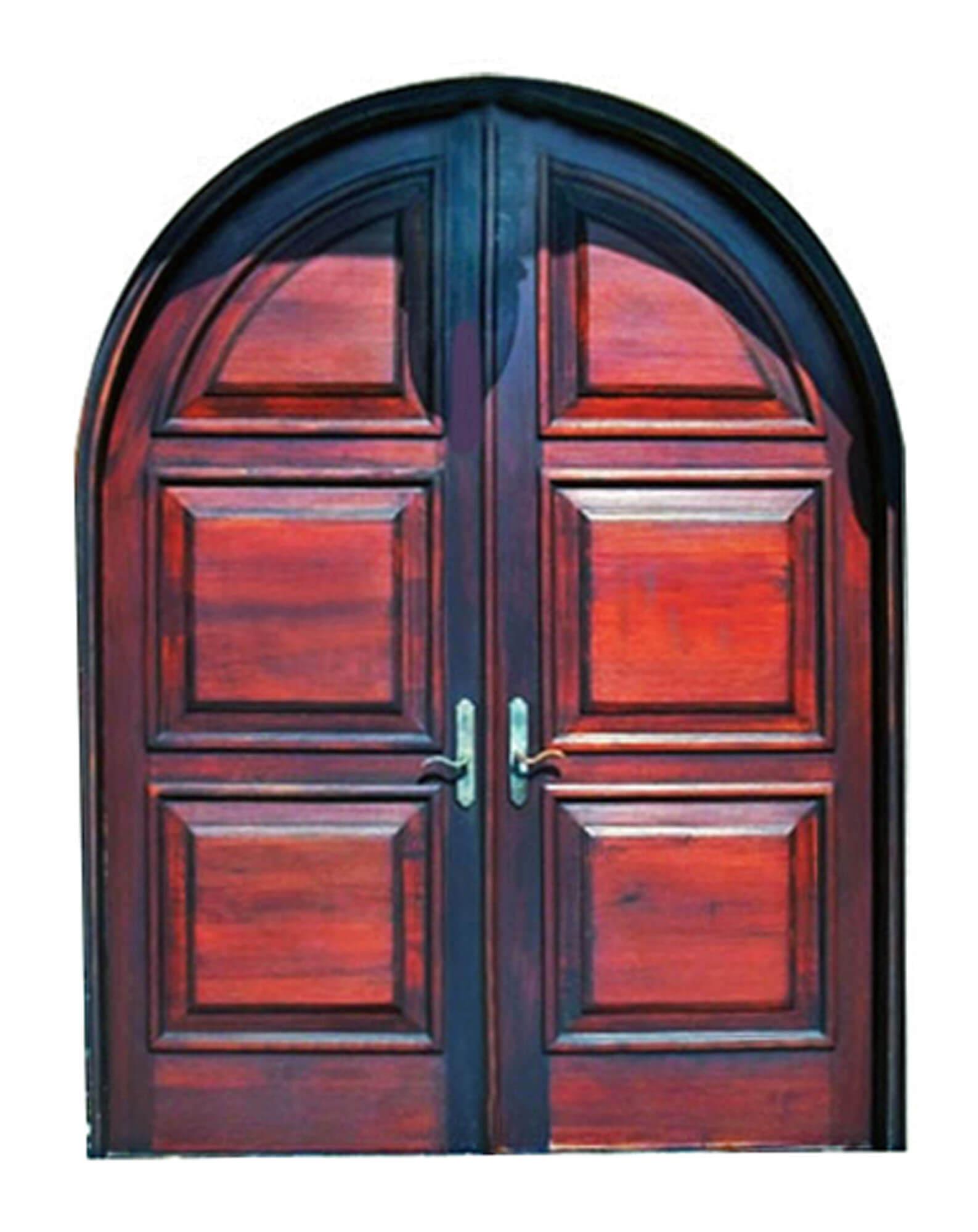SEBASTIAN MAHOGANY ENTRY DOORS.