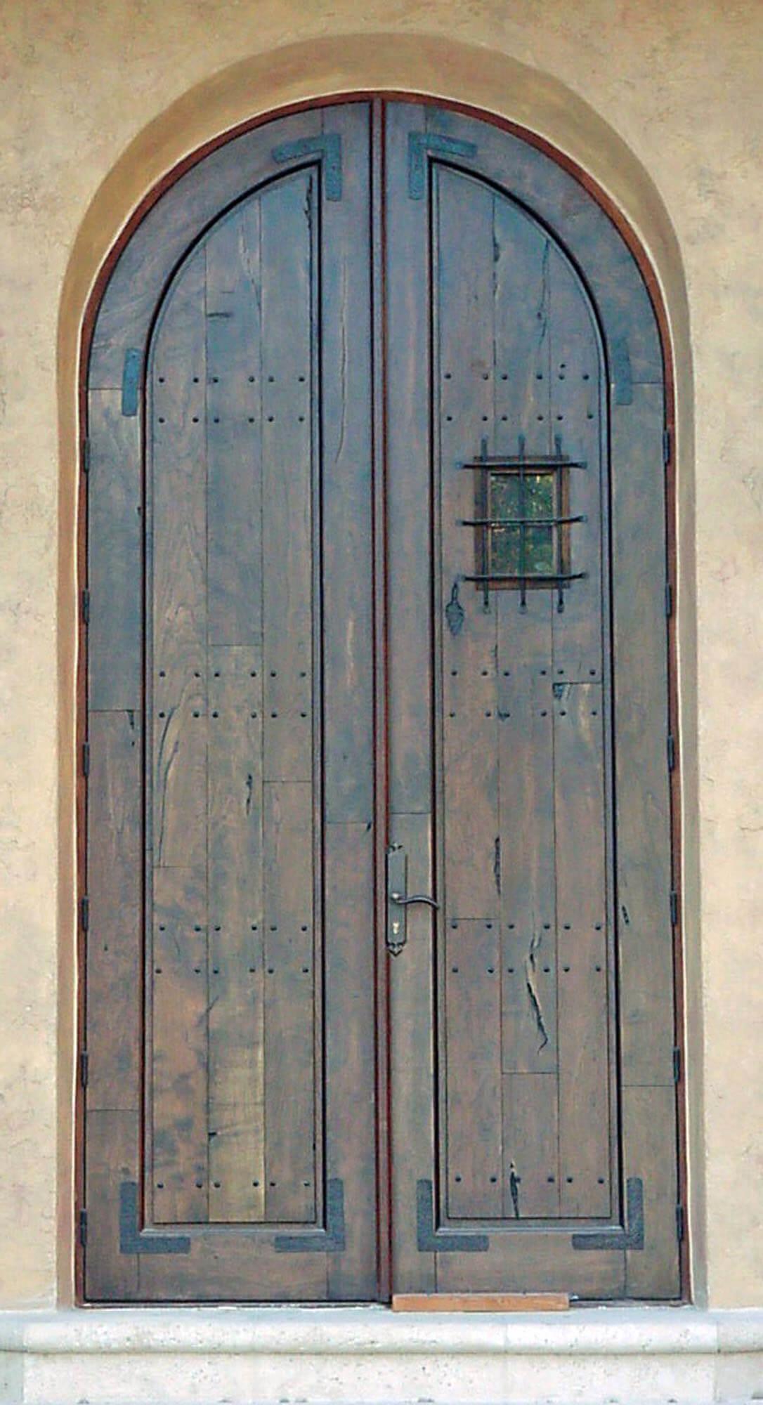 Seven Isles Mahogany Door