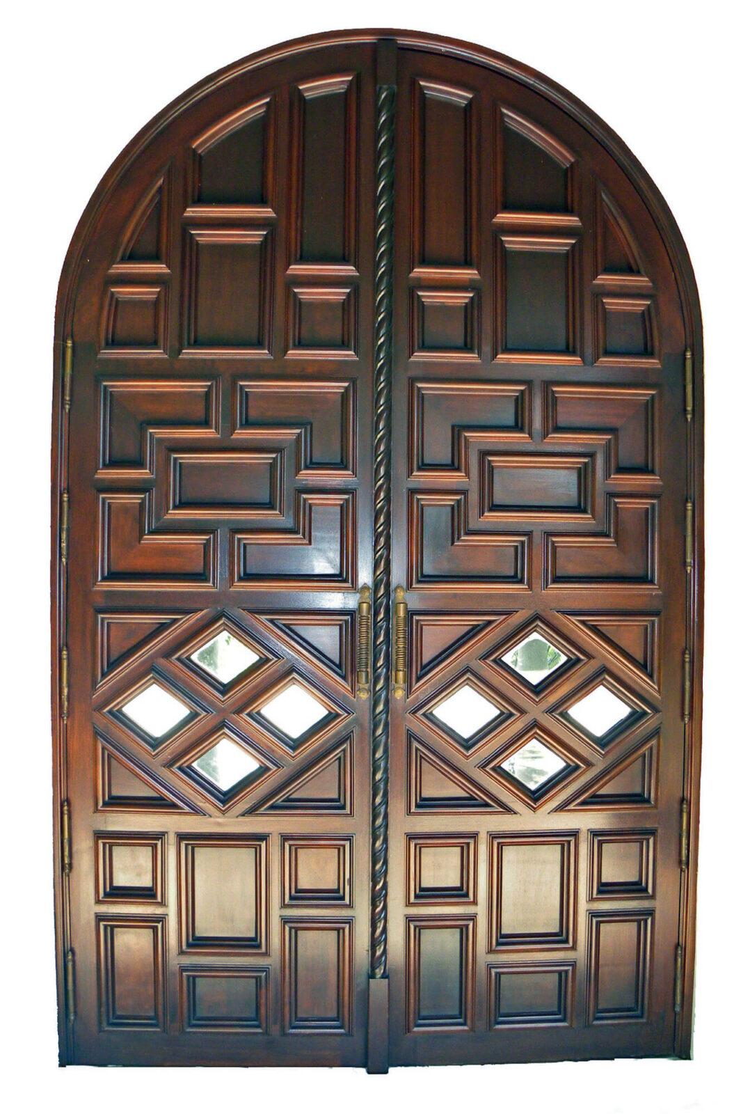 South Bay Mahogany Gate Door