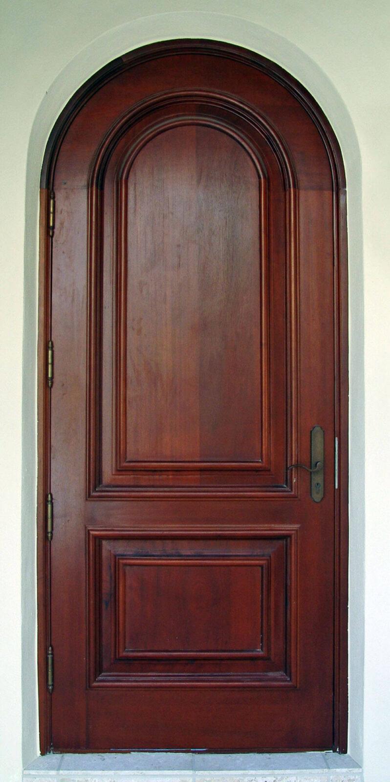 SOUTH BEACH MAHOGANY ENTRY DOOR.