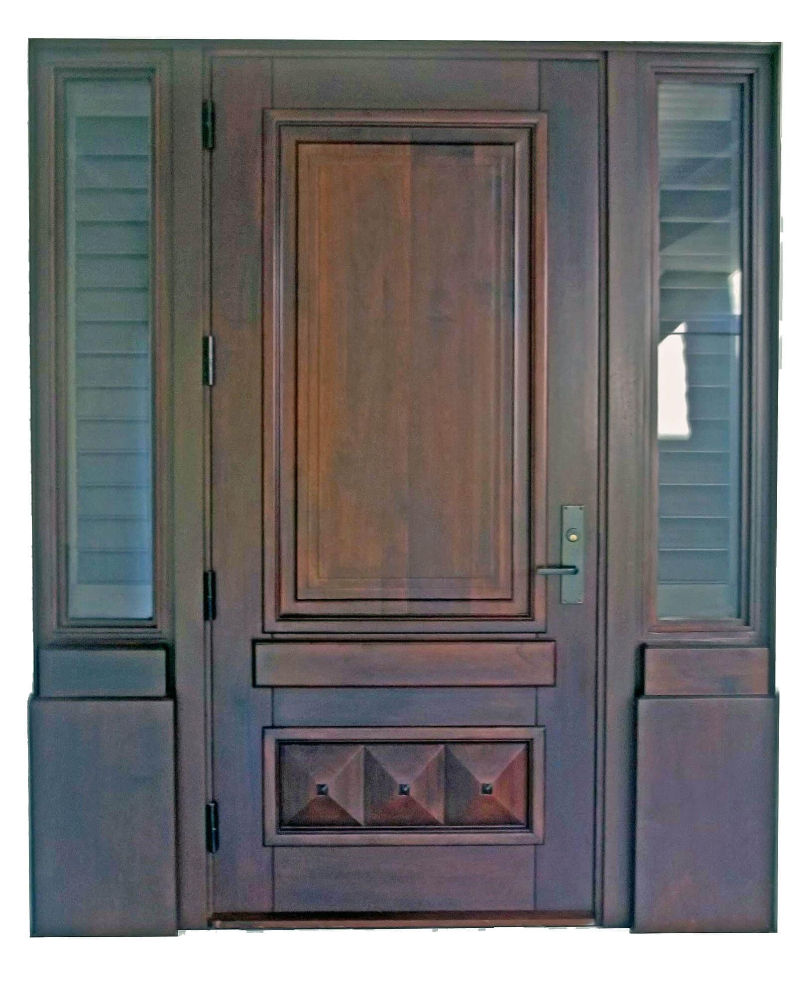 South Miami Mahogany Entrance Doors