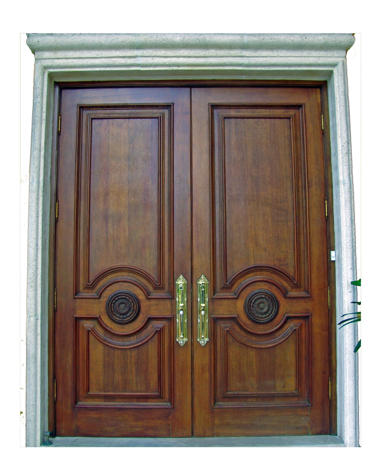 ST. AUGUSTIN MAHOGANY EXTERIOR DOOR.