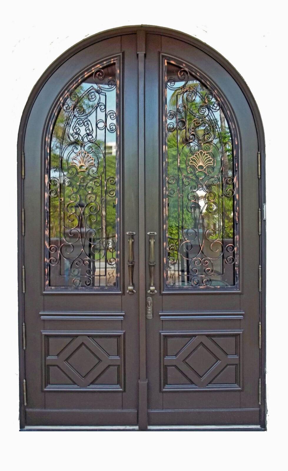 Sunny Isles Mahogany Exterior Doors
