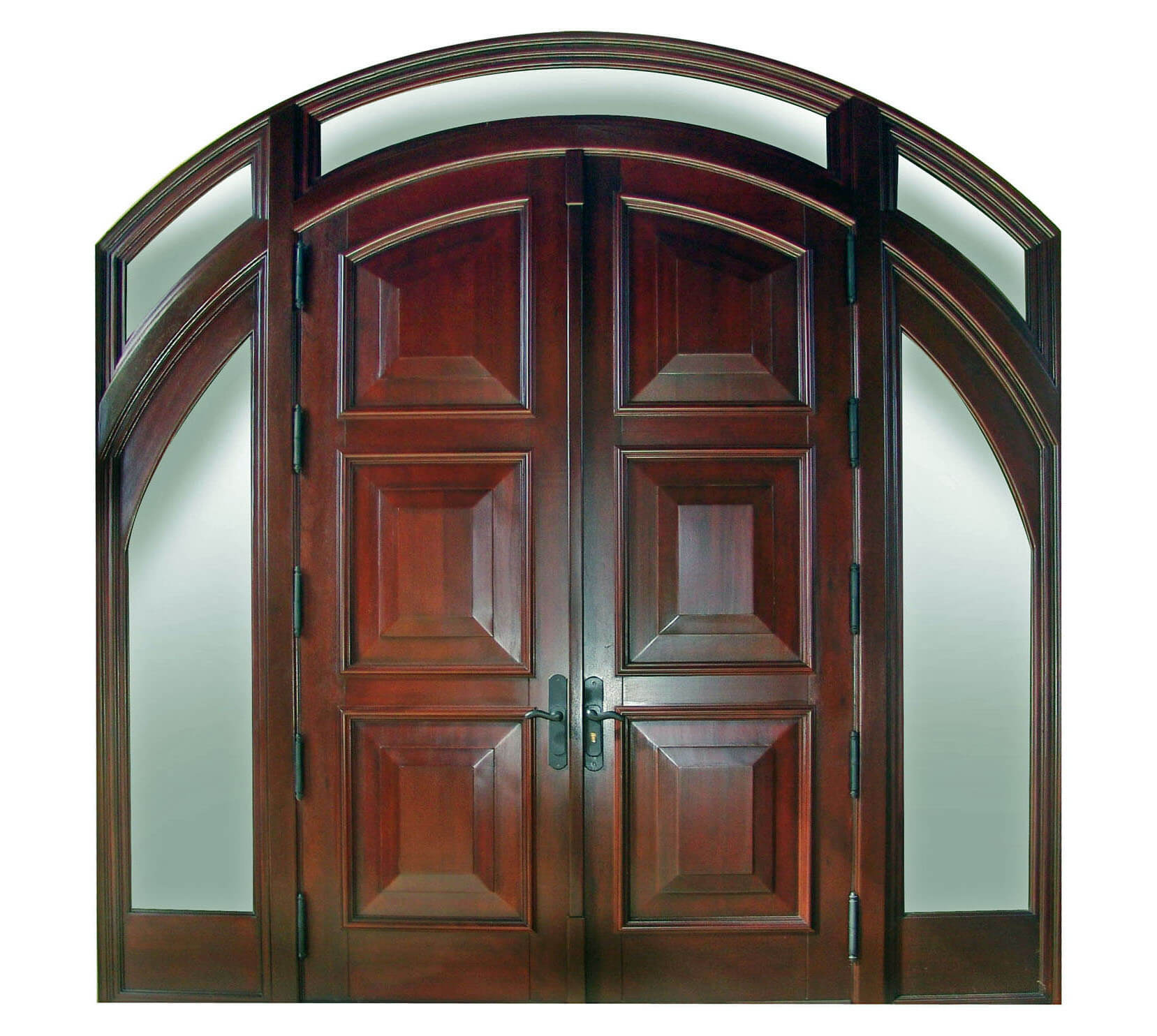 Sunset Point Key Mahogany Entry Doors