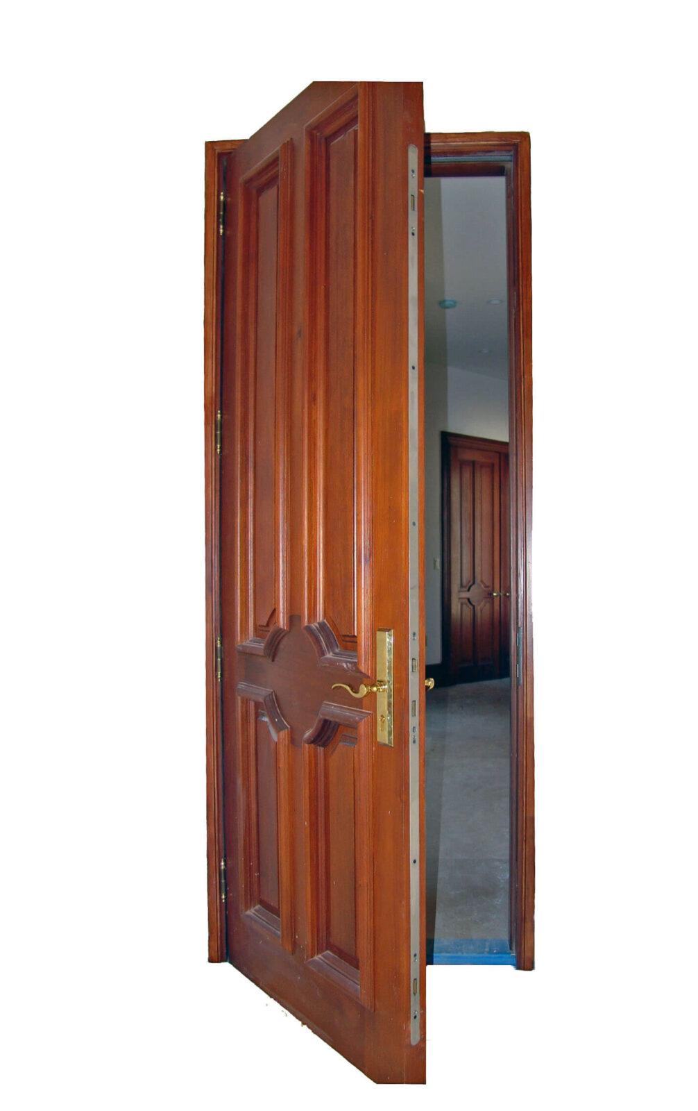 SWEETWATER MAHOGANY DOOR DETAIL.