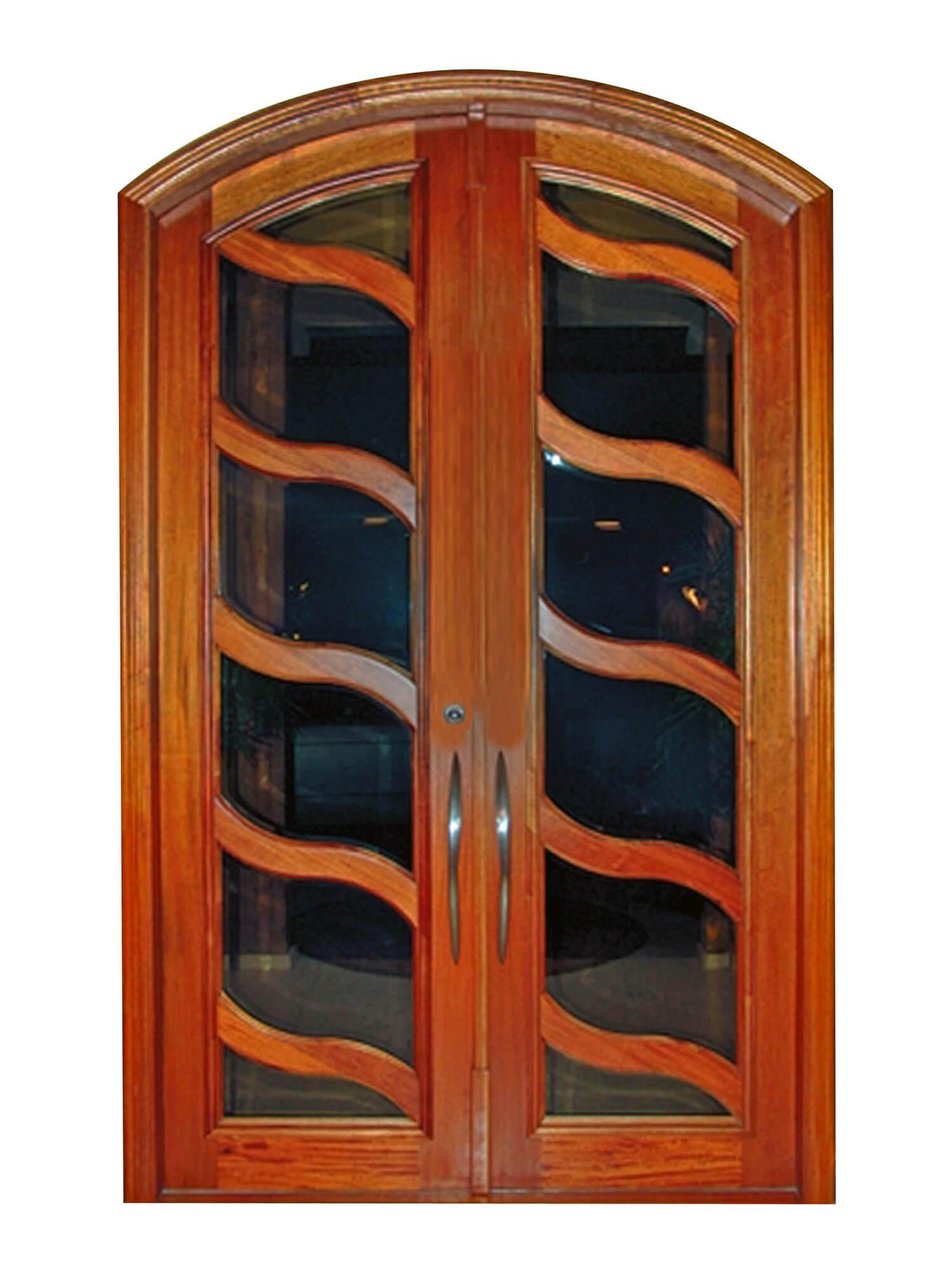 Trinidad Mahogany Doors