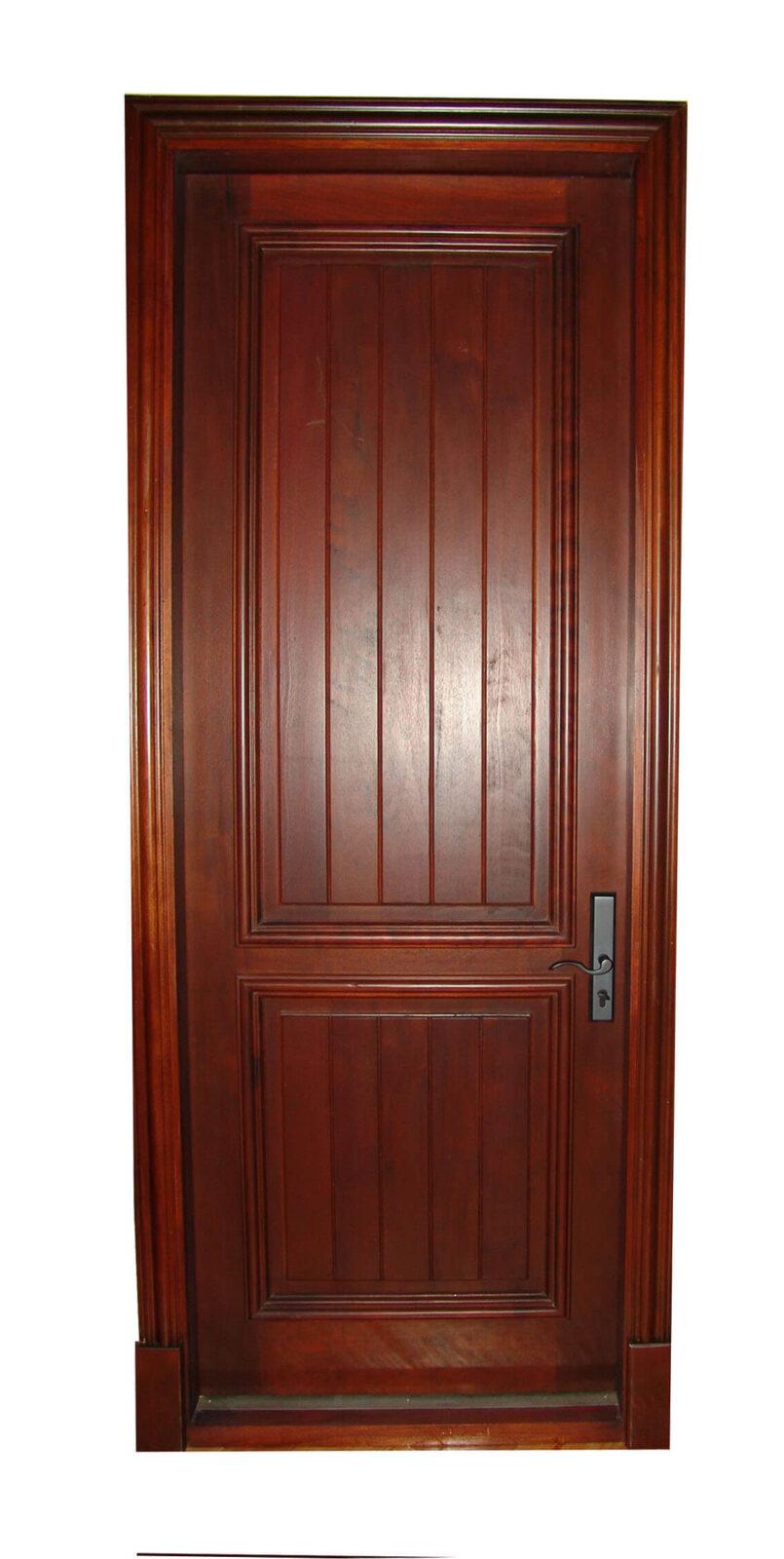 Troya Mahogany Front Door