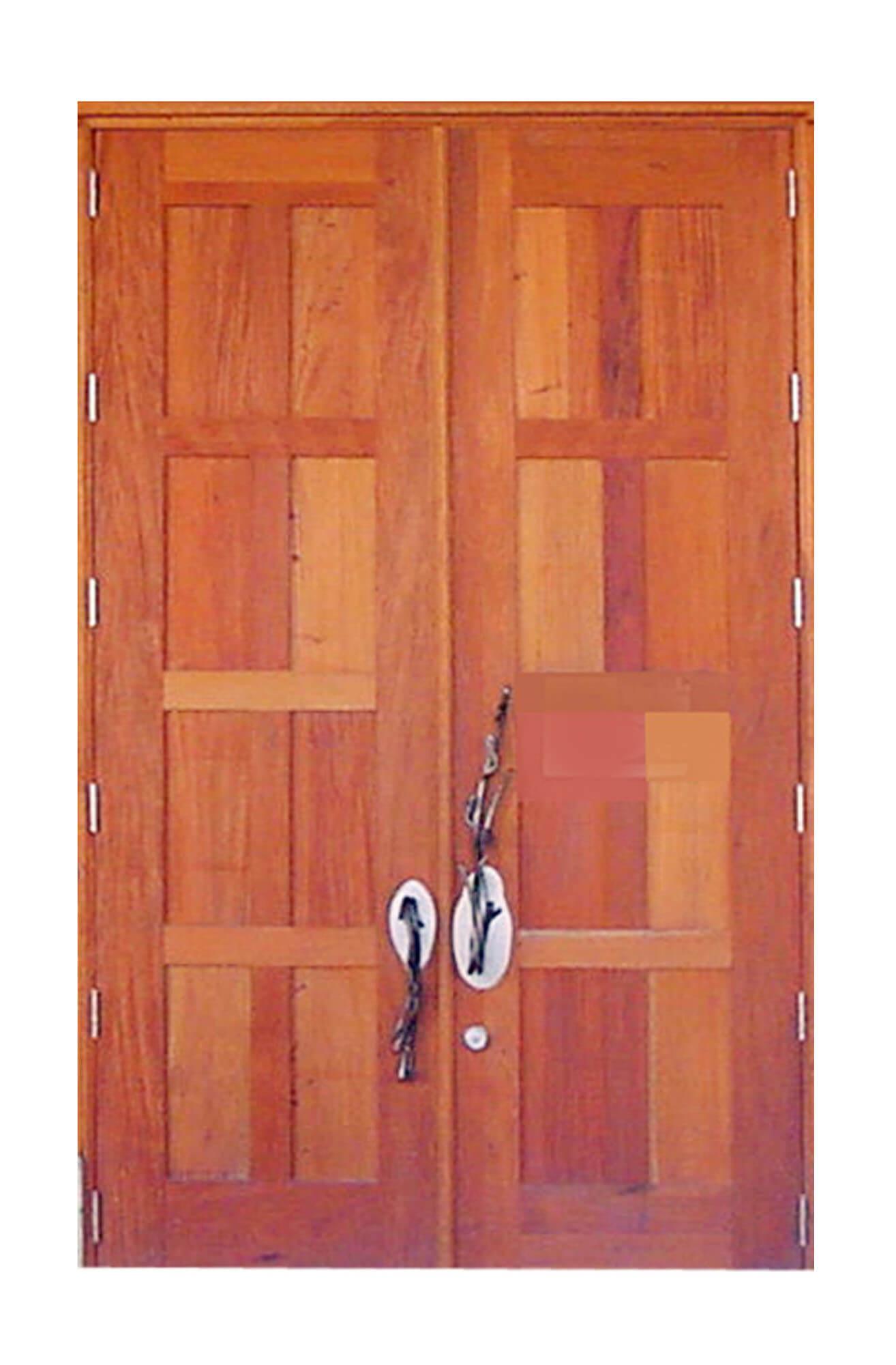 West Palm Beach Mahogany Store Front Door