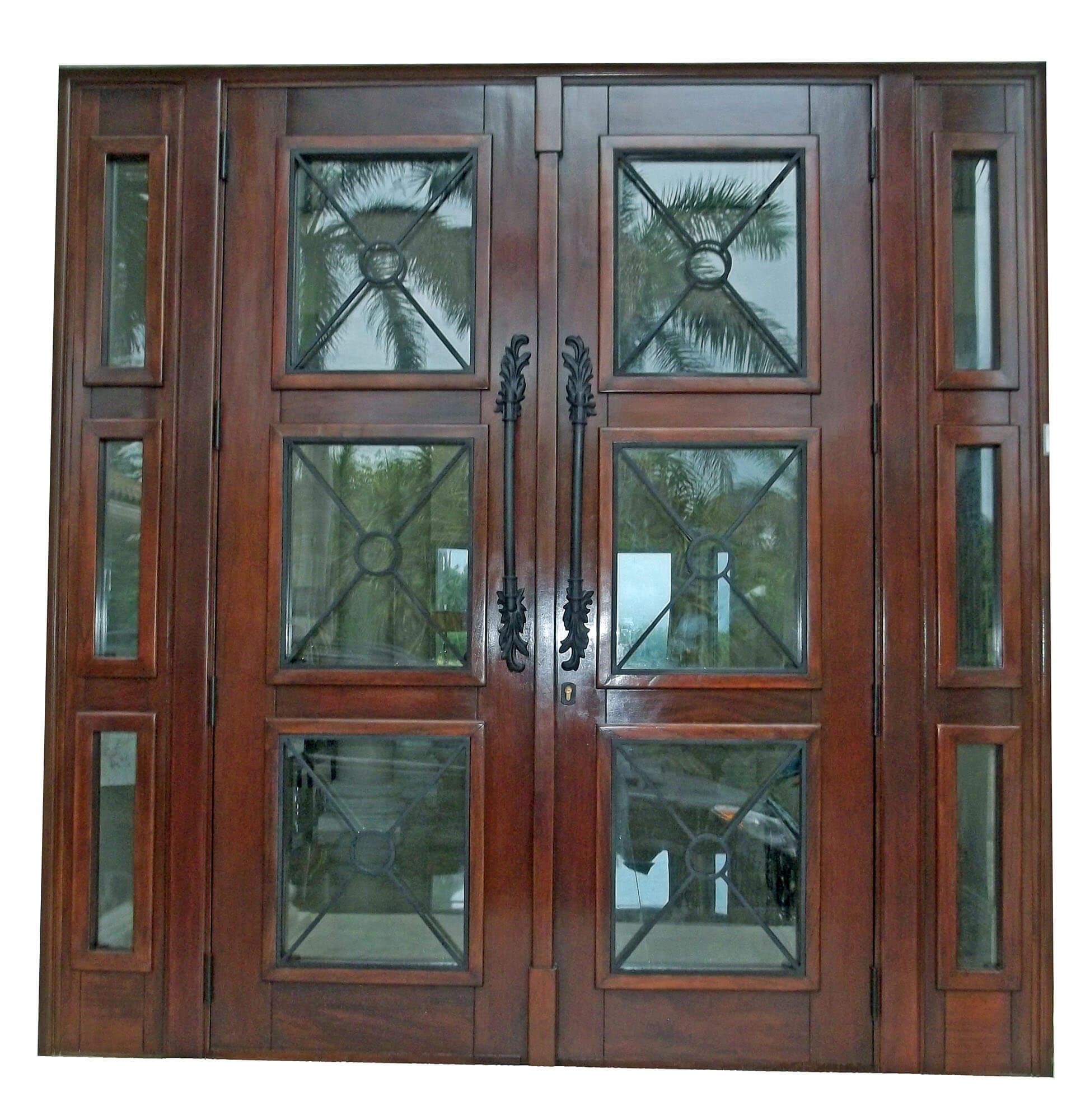 Boca Chica Key Mahogany Exterior Door
