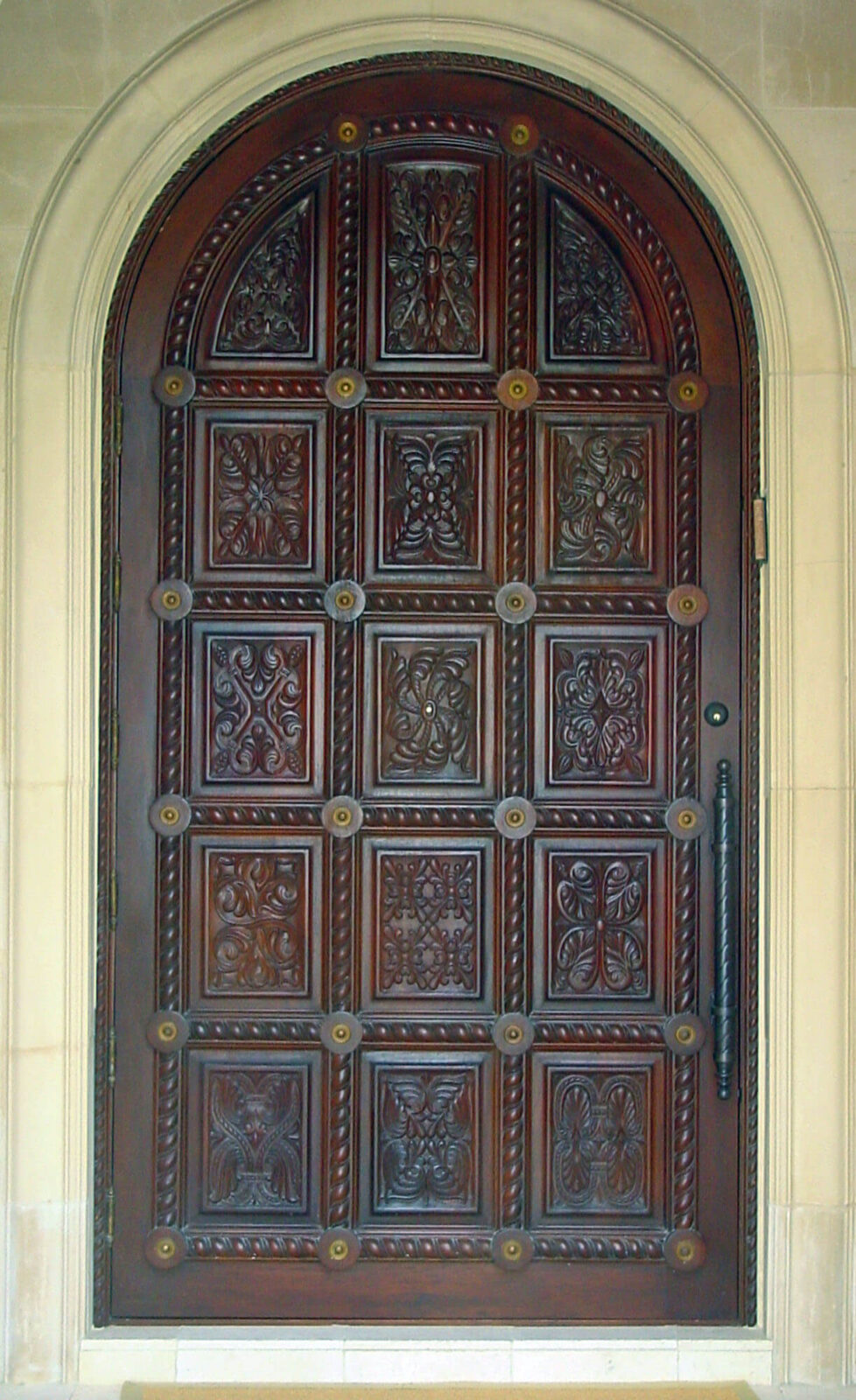 Boca Raton Mahogany Front Door