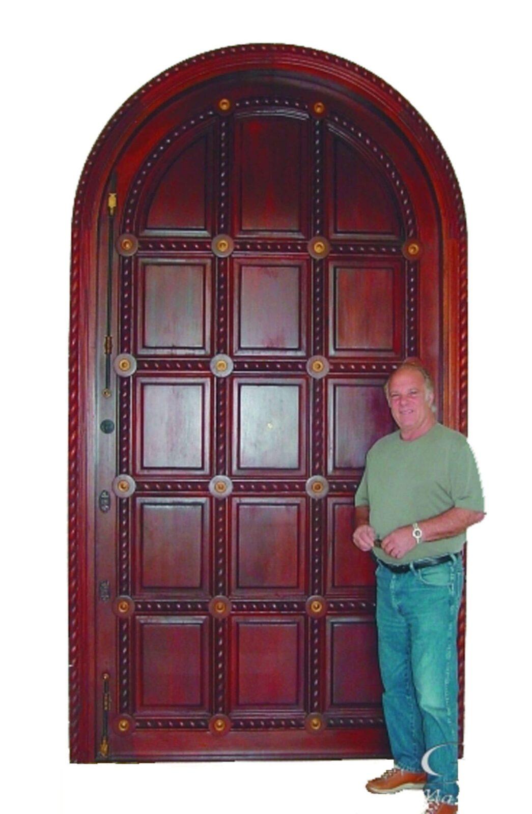 BOCA RATON MAHOGANY CARVED DOORS INTERIOR