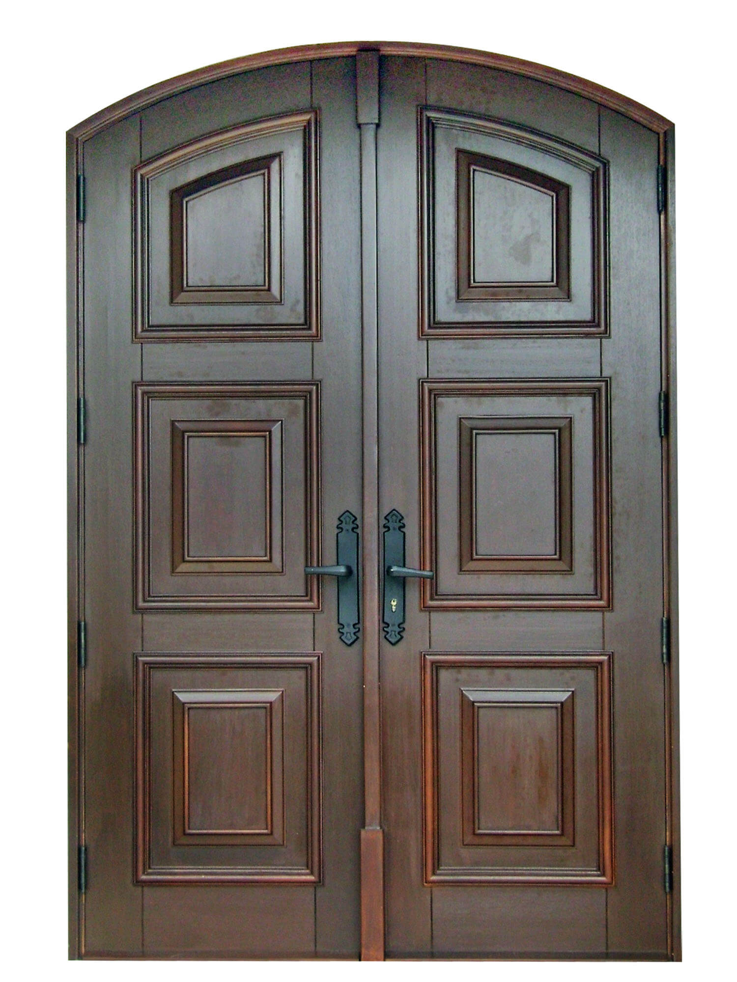 Bonita Springs Mahogany Carved Door