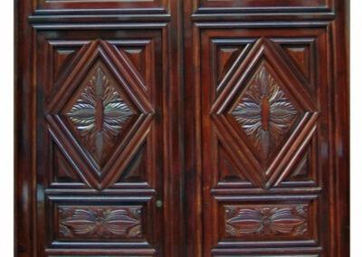 BOSTON MAHOGANY DOOR.