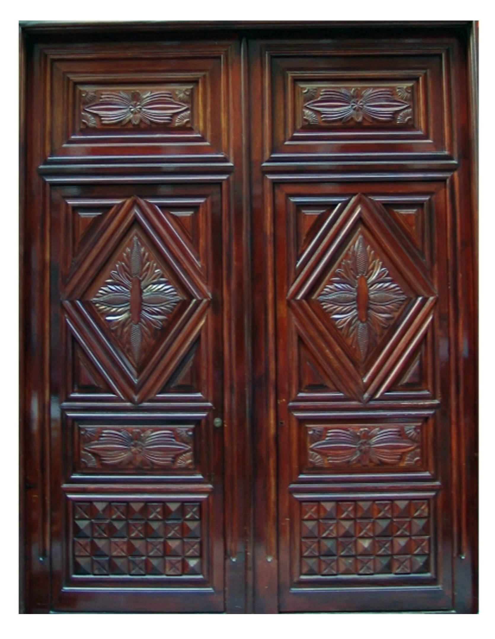 Boston Mahogany Door