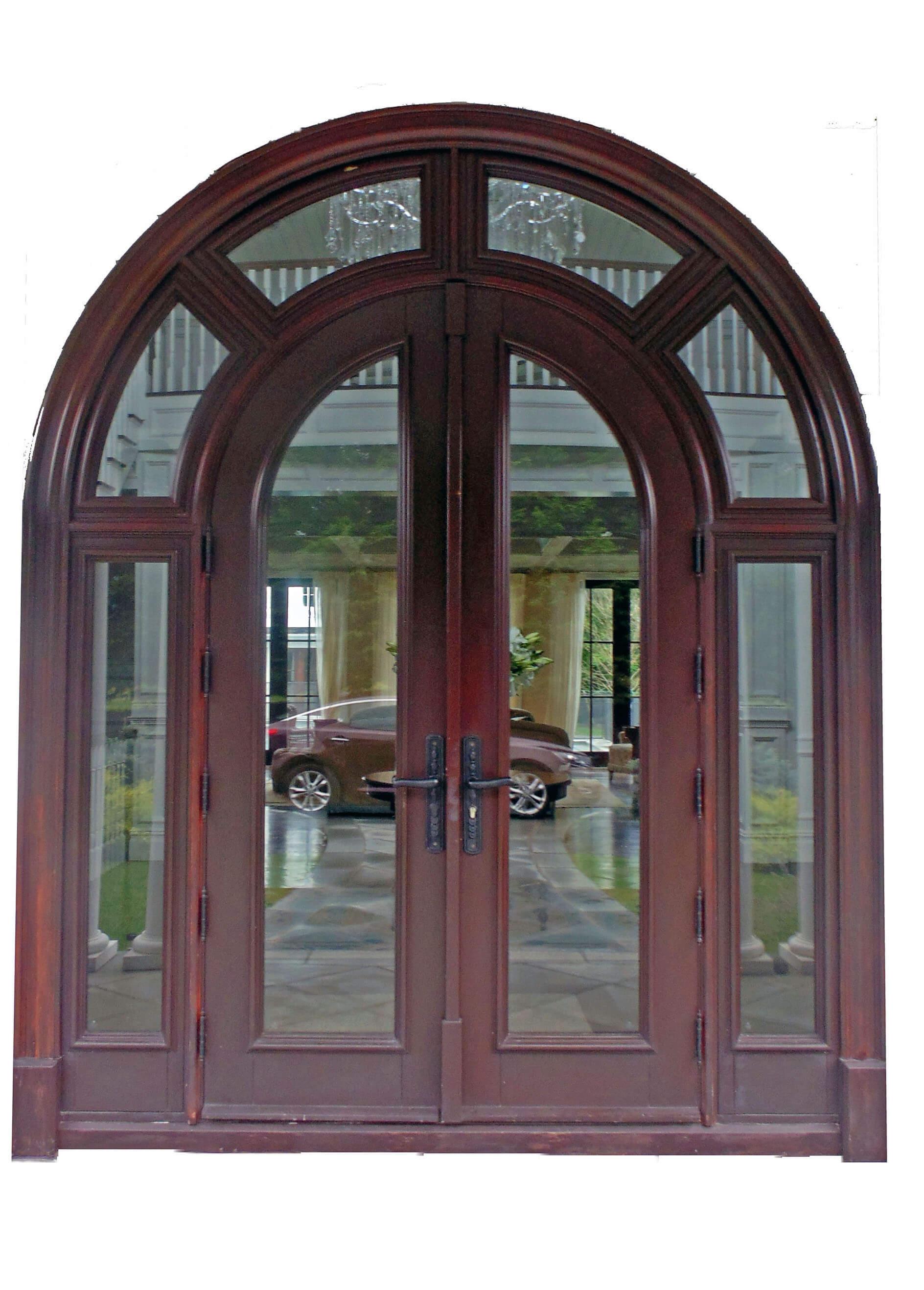 BRIDGEHAMPTON MAHOGANY ENTRANCE DOOR.
