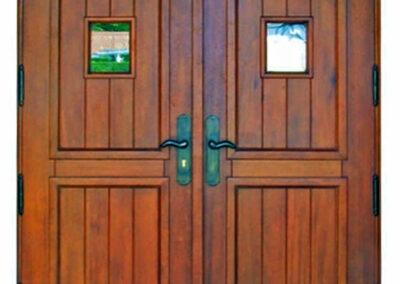 CAPTIVA ISLAND MAHOGANY DOOR.