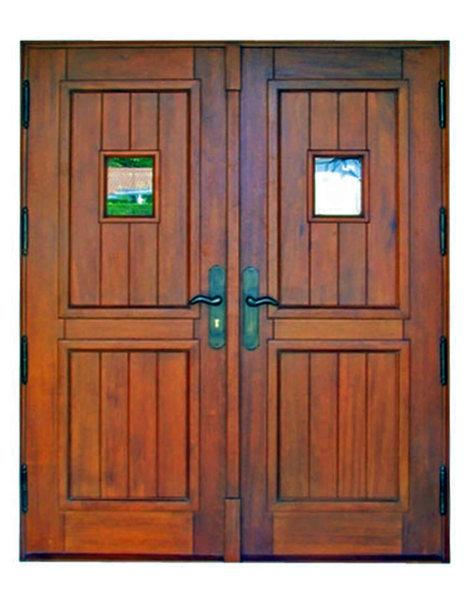 Captiva Island Mahogany Door