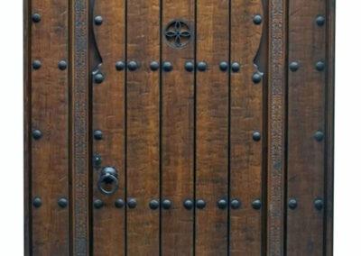 CAYMAN MAHOGANY DOOR.