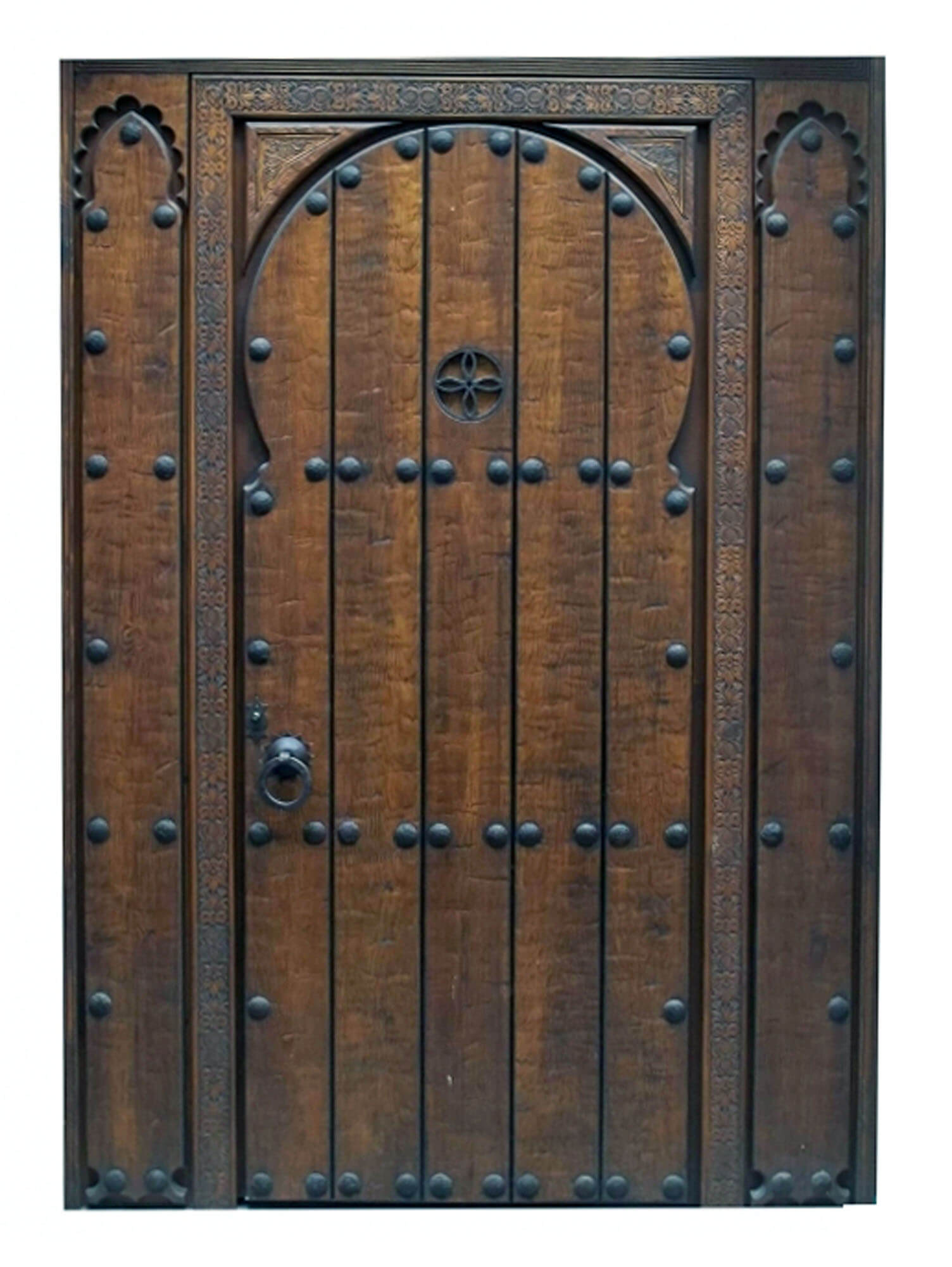 Cayman Mahogany Door